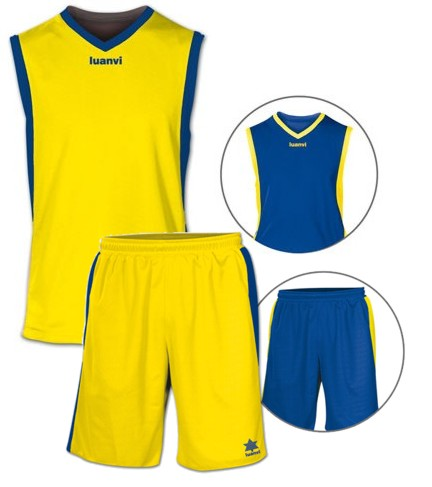 Luanvi Kids Team Reversible Kit LU-05127-8-0027