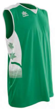 Luanvi Atlas Basketball Top - Green/Black LU-07183-0050