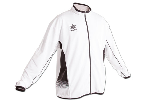 Luanvi Quebec Basketball Warmup Jacket - White