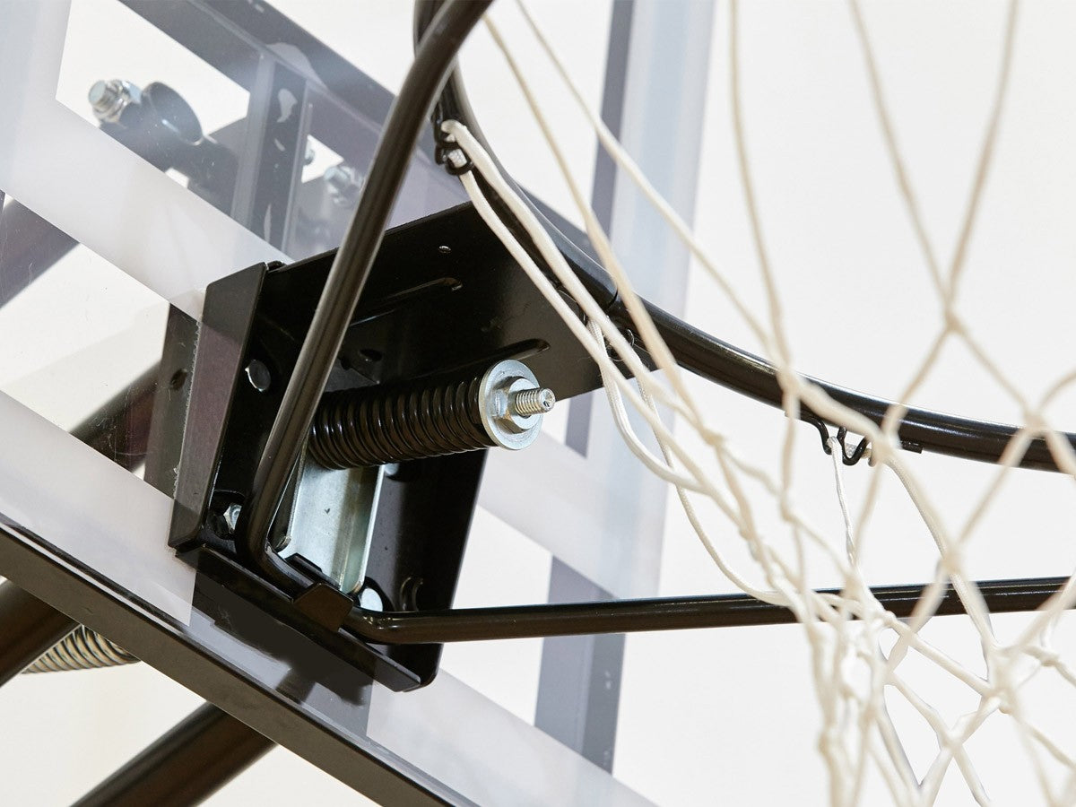 NET1 Millenium Portable Basketball System - Black/Clear