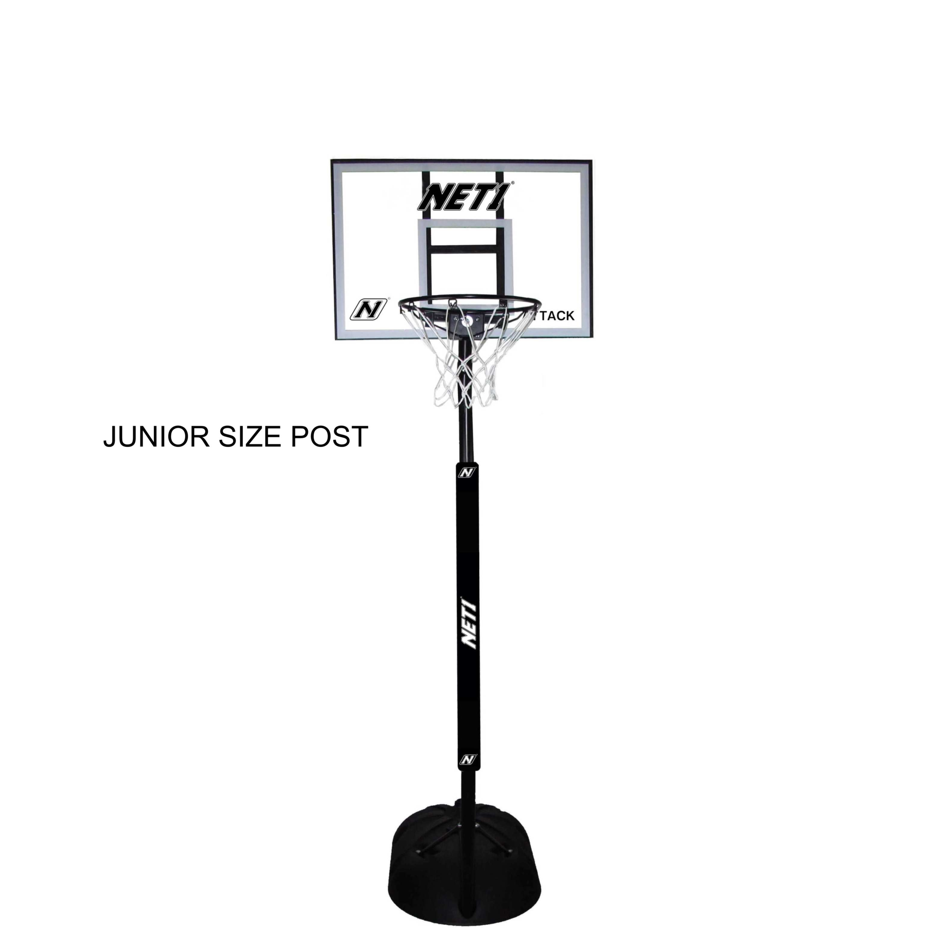 NET1 Junior Attack Portable Basketball System N1-N123206