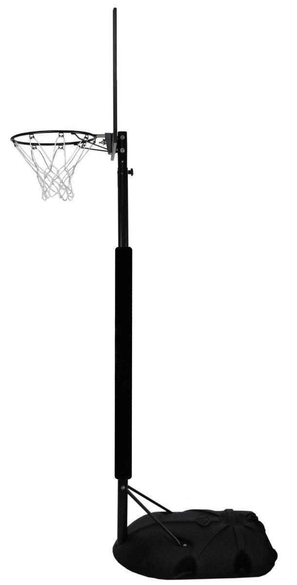 NET1 Junior Attack Portable Basketball System - Black/Clear