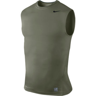 Nike Mens Pro Core Crew Neck Sleeveless Body Compression NK-269602-021