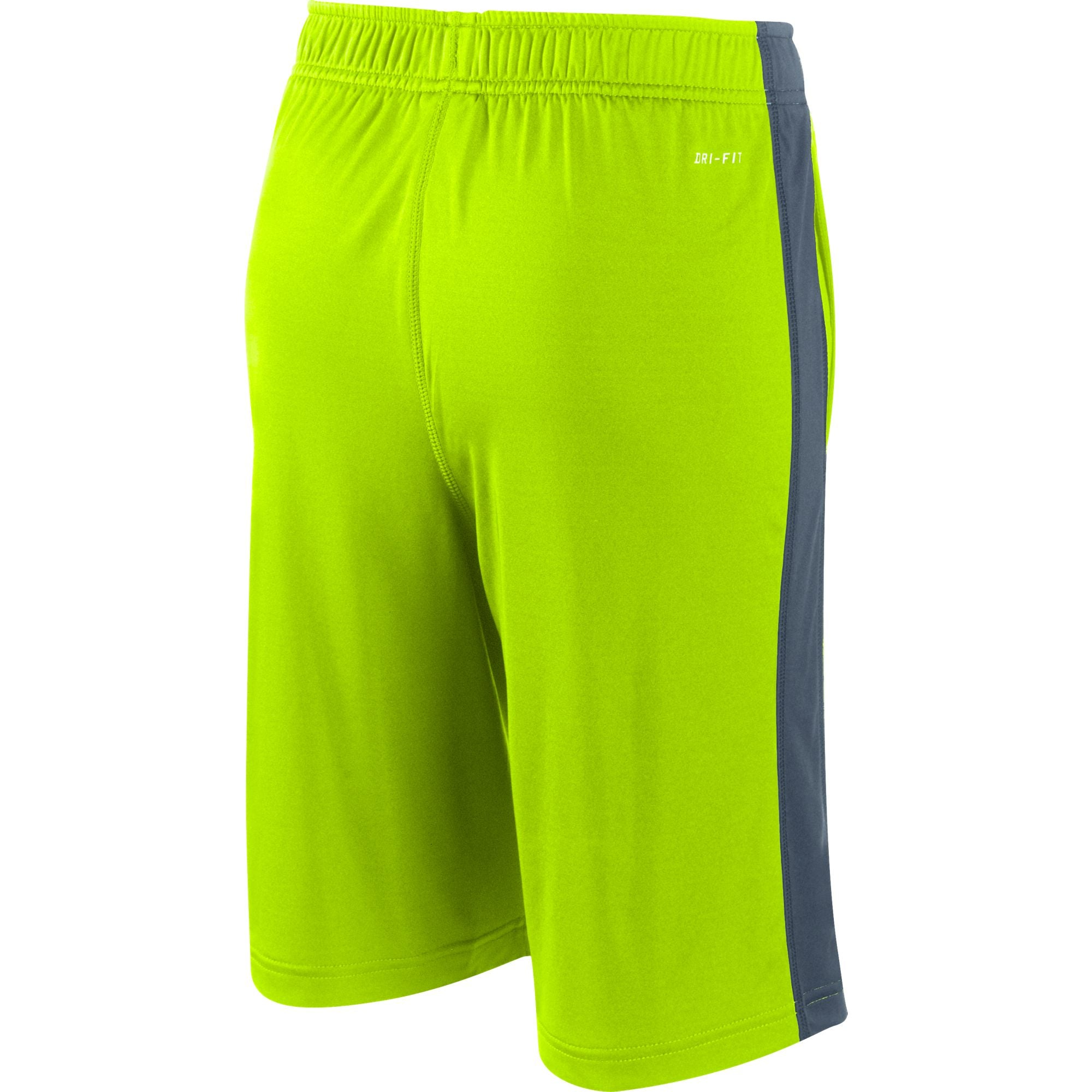 Nike Kids Training Fly Shorts - Volt/Anthracite