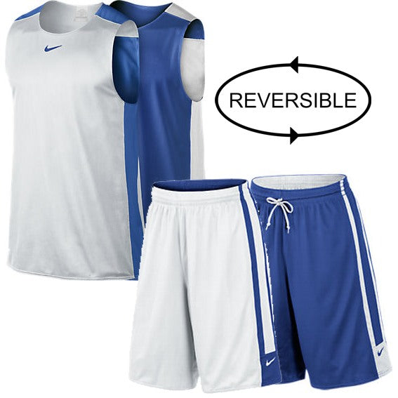Nike Basketball Team League Reversible Kits - White/Royal Blue NK-512908-105-512910-105