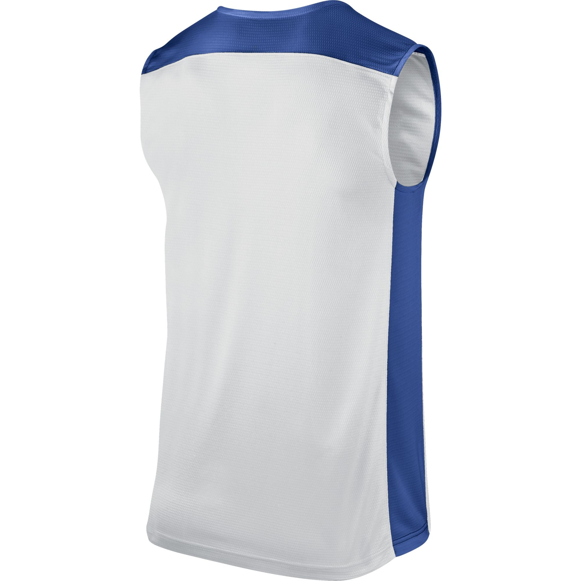 Nike Basketball Post Up Sleeveless - White/Game Royal