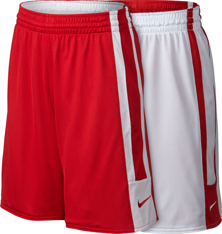 Nike Kids Basketball Team League Reversible Shorts - Red/White NK-553406-658