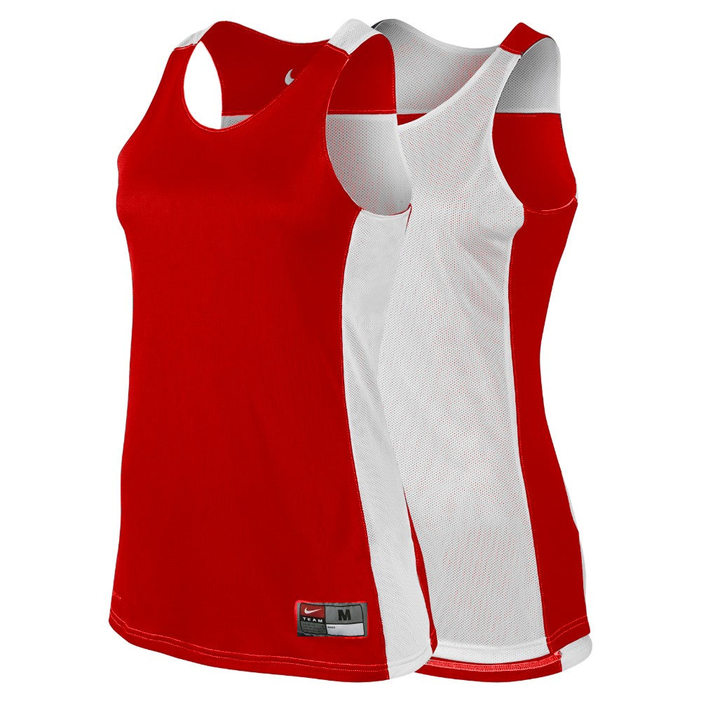 Nike Womens Basketball Team League Reversible Top - Red/White NK-626725-658