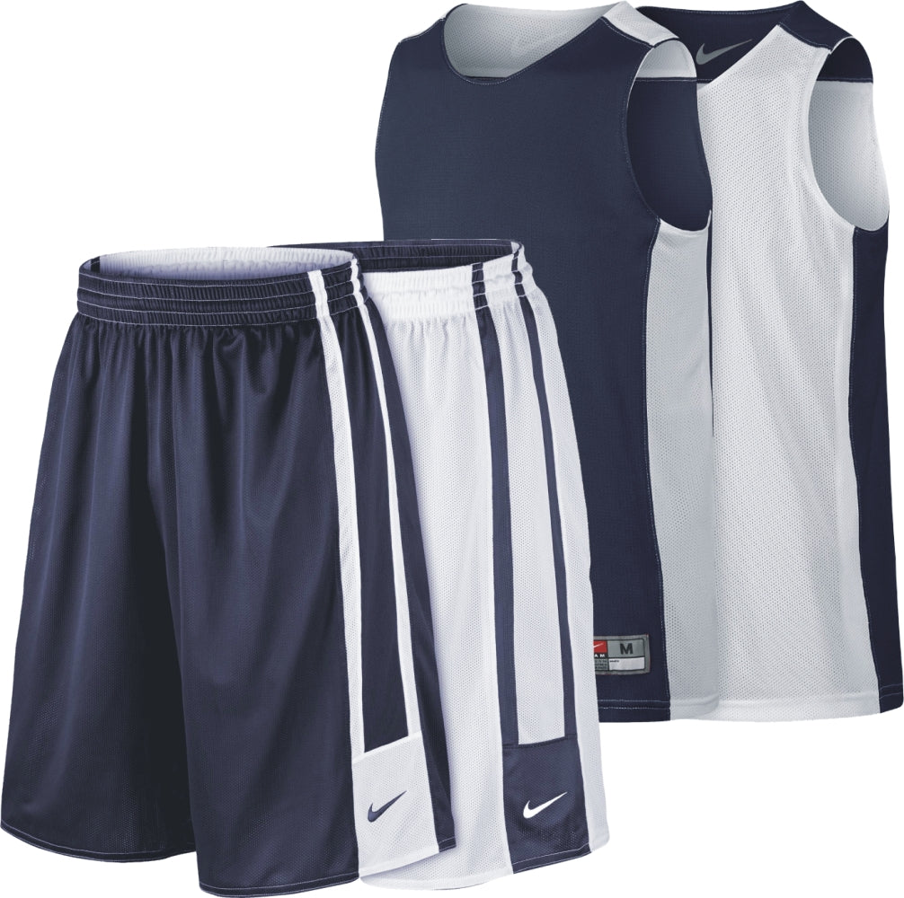 Nike Kids Basketball Team League Reversible Kit - Navy/White NK-626726-420-553406-420