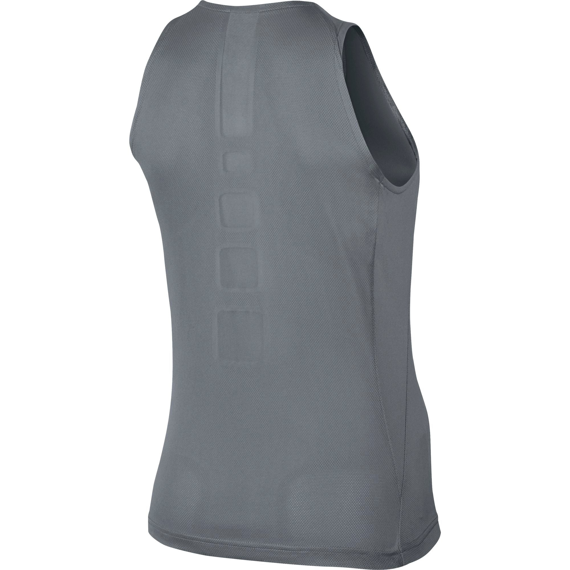 Nike Womens Elite Sleeveless Basketball Top - Cool Grey/Black