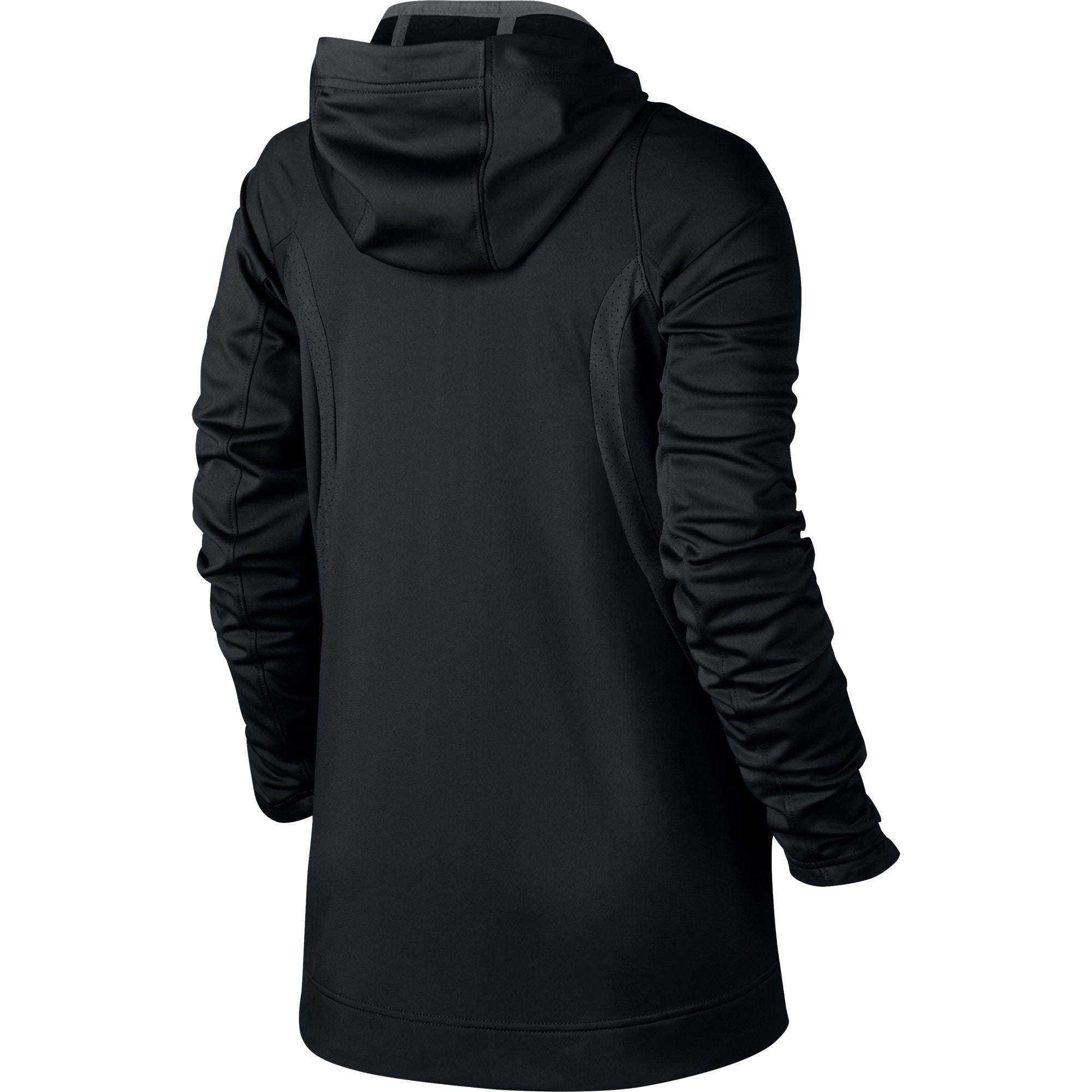 Nike Womens Basketball Hyper Elite Hoodie - Black/Anthracite/Iridescent