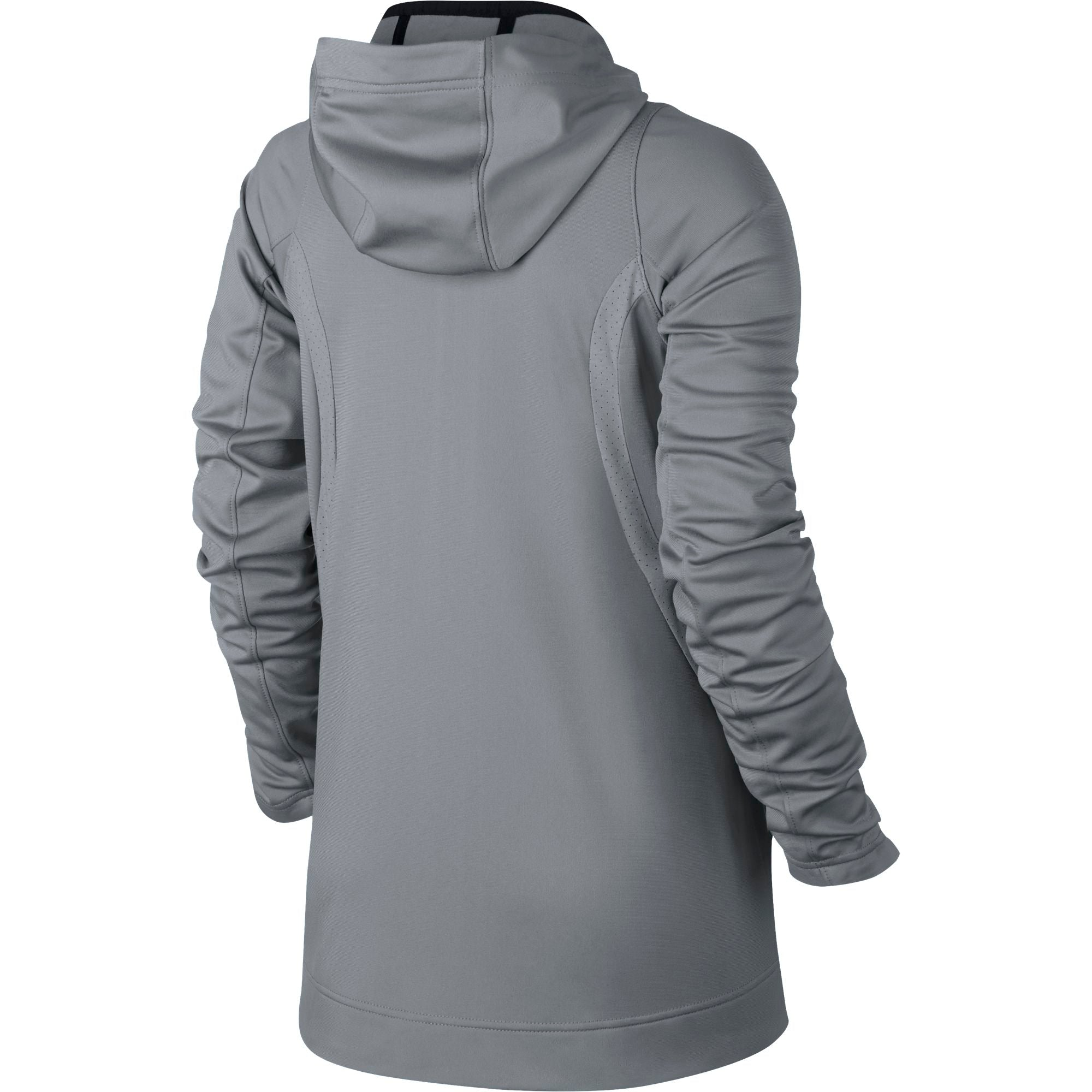 Nike Womens Basketball Hyper Elite Hoodie - Cool Grey/Anthracite/Iridescent