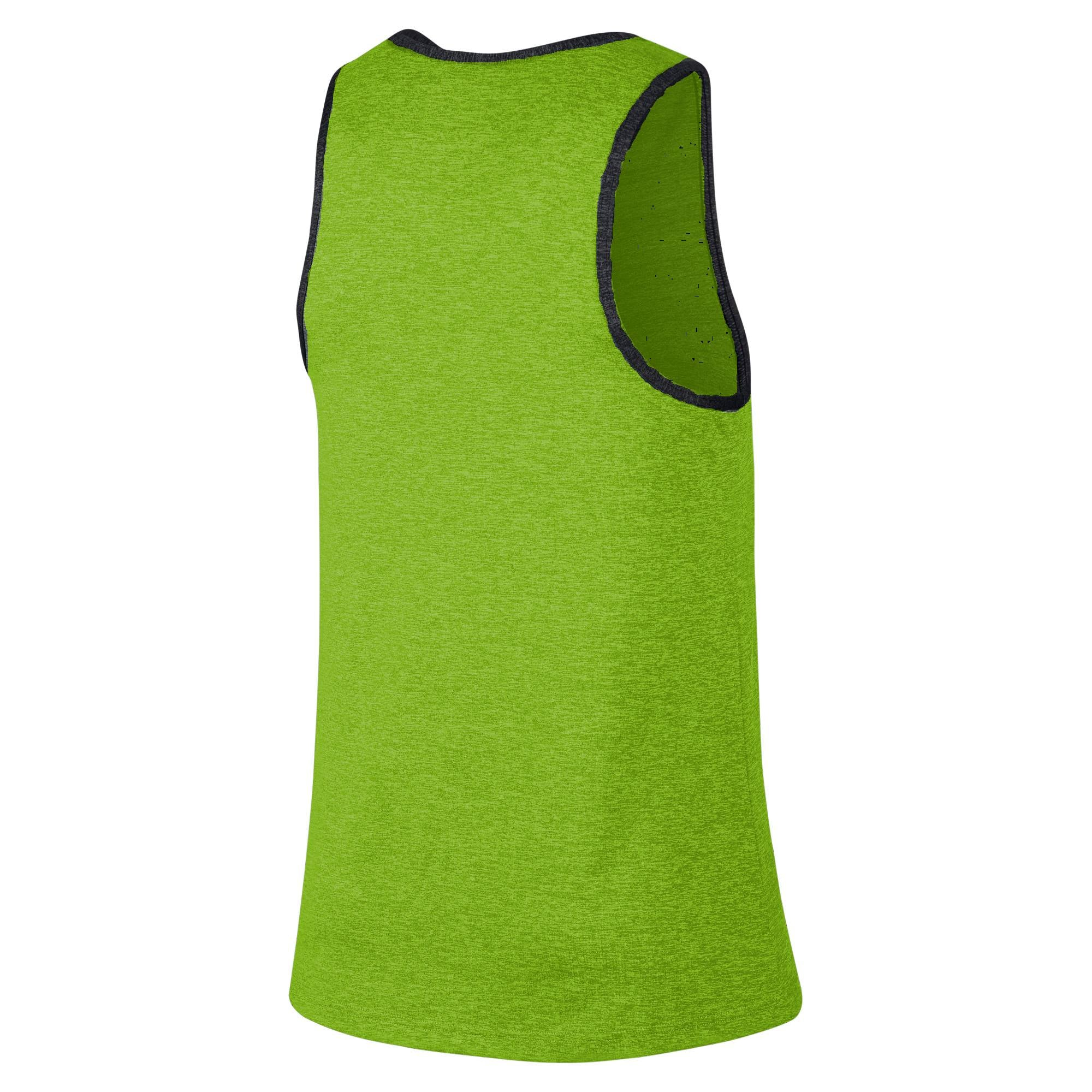 Nike Basketball Hyper Elite Knit Basketball Sleeveless Top - Action Green/Green Spark/Metallic Silver