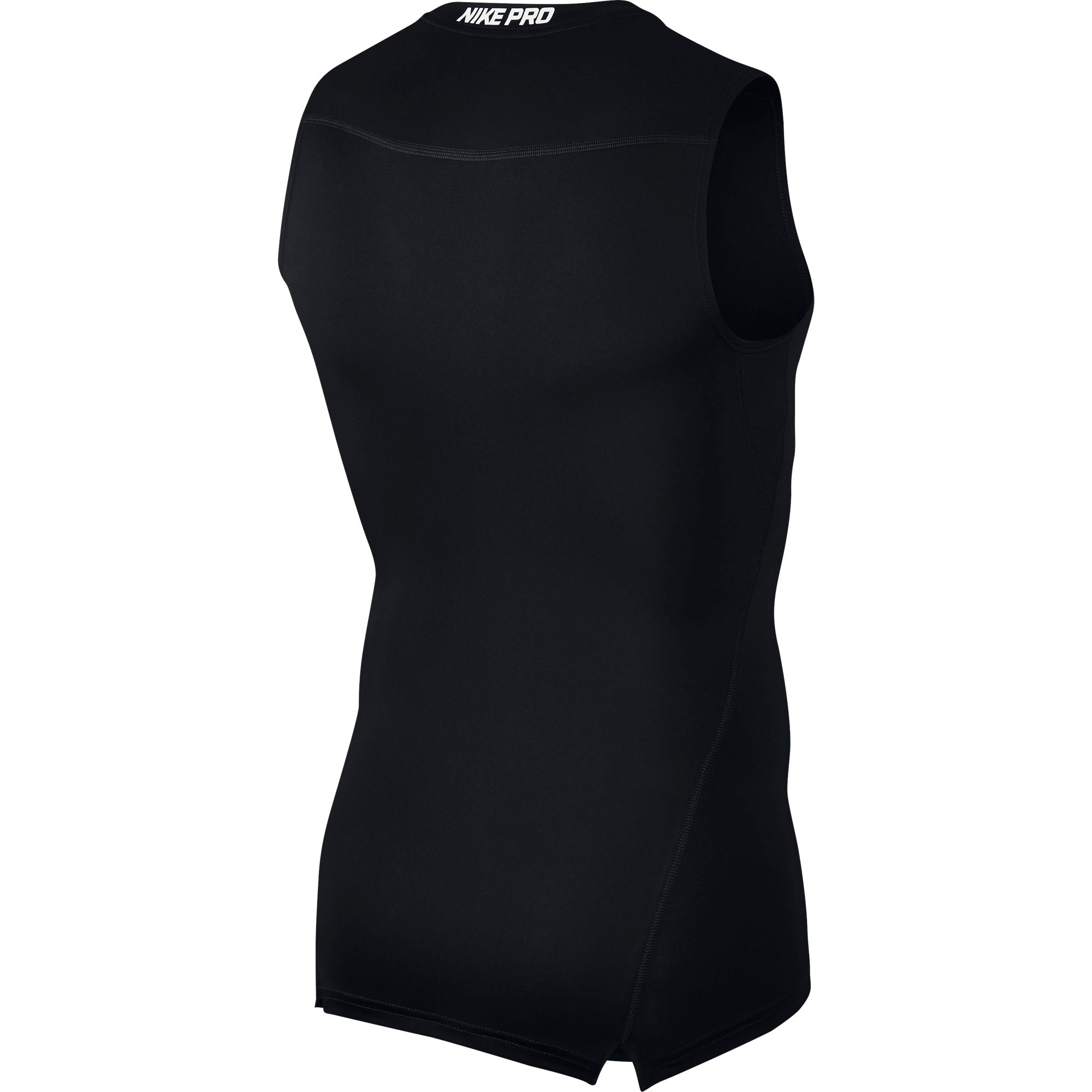 Nike Pro Base Layer Top - Black/White