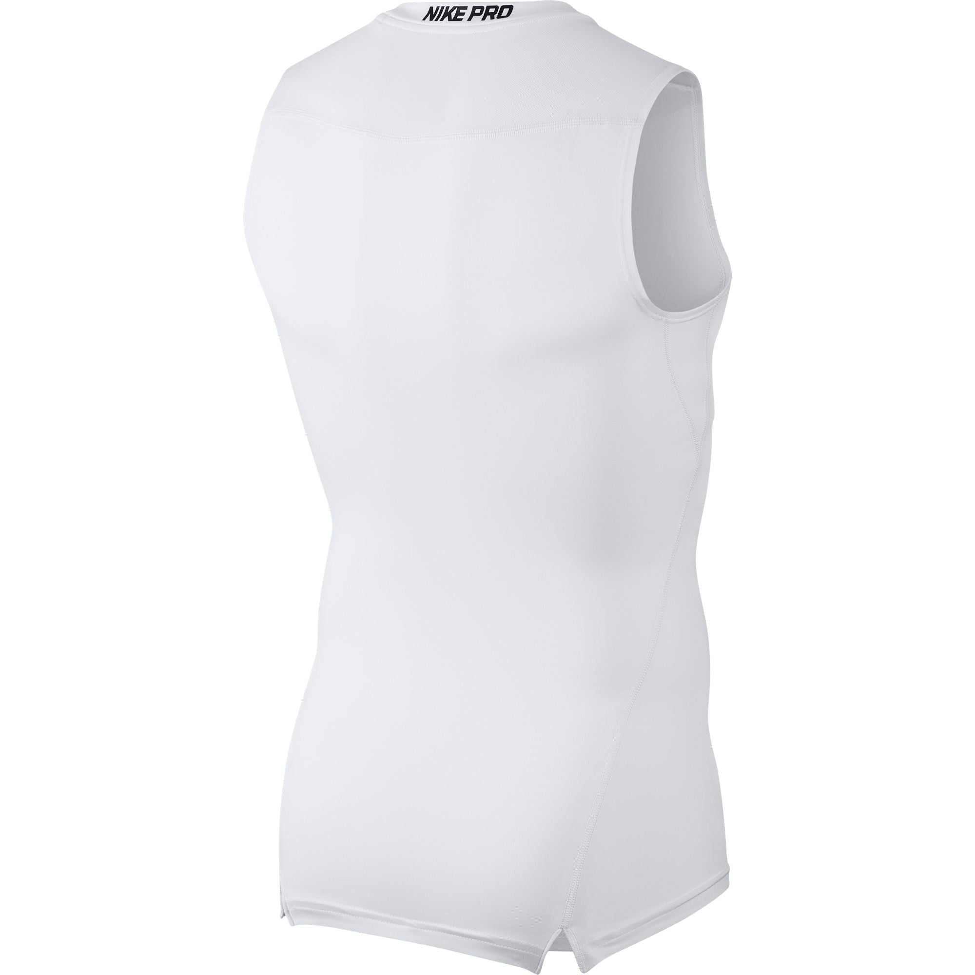 Nike Pro Base Layer Top - White/Black