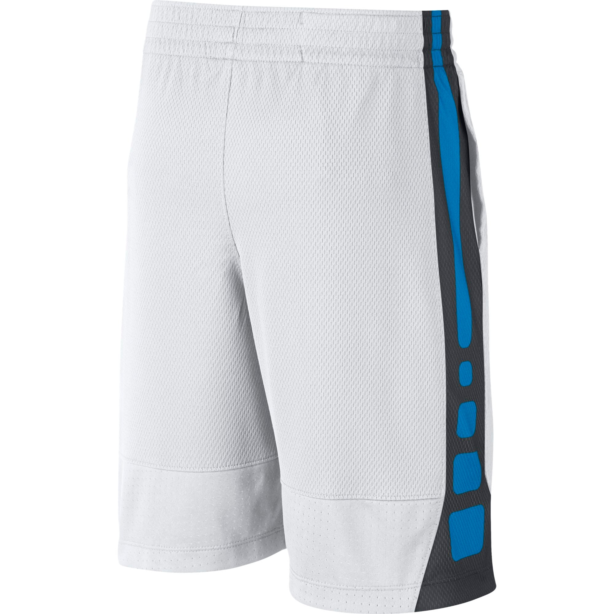 Nike Kids Basketball Dry Elite Shorts - White/Equator Blue
