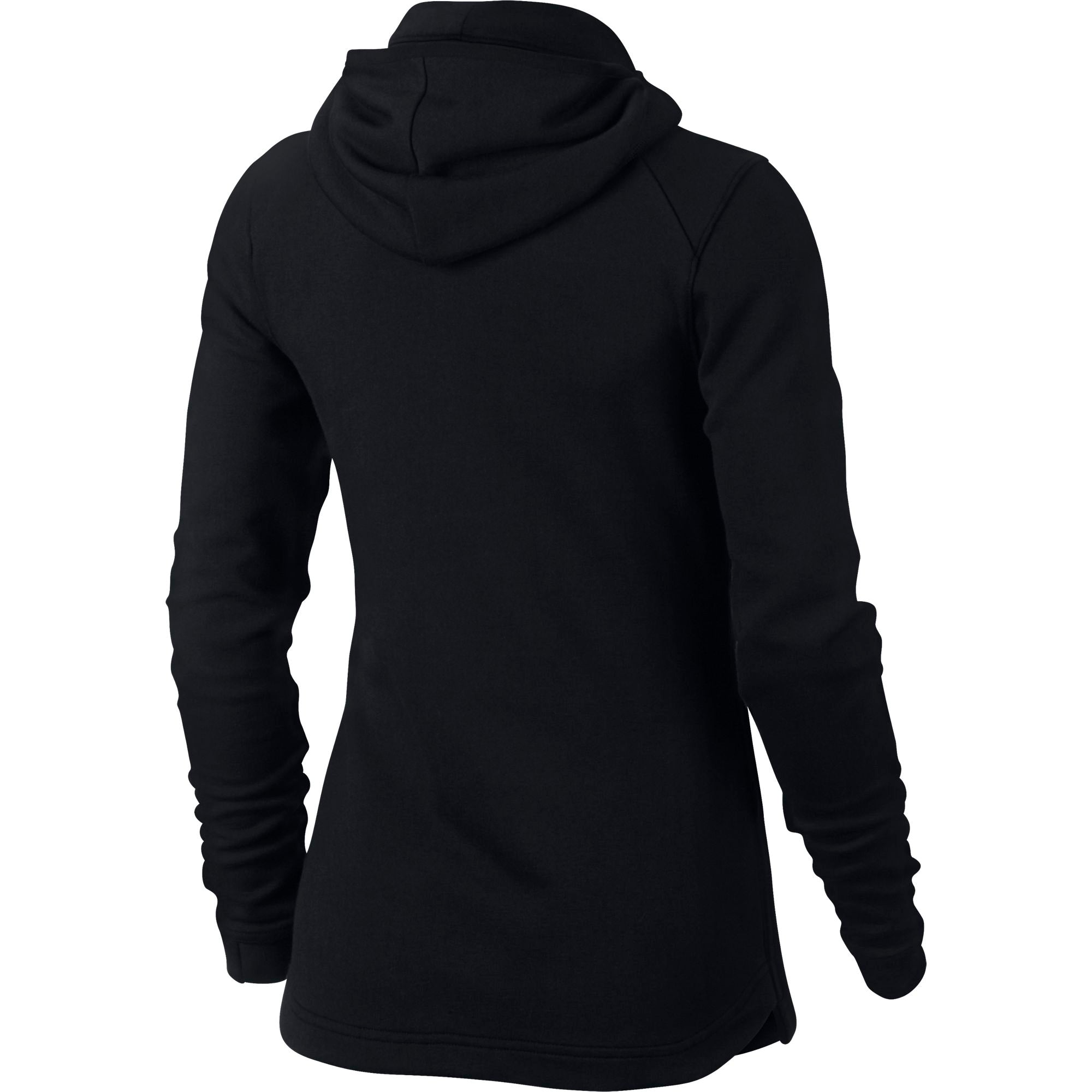Nike Womens Basketball Dry Showtime Hoodie - Black/White