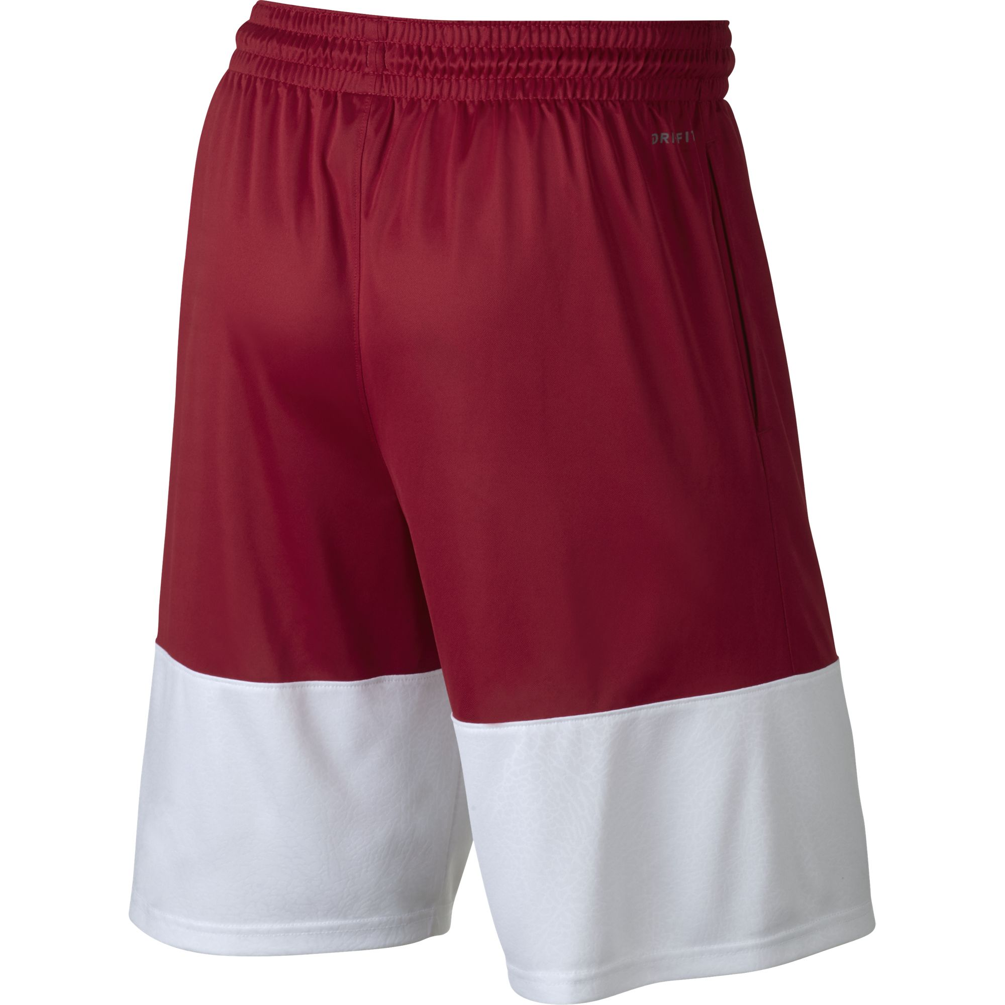 Nike Jordan Basketball Rise Twenty-three Shorts - Gym Red/White