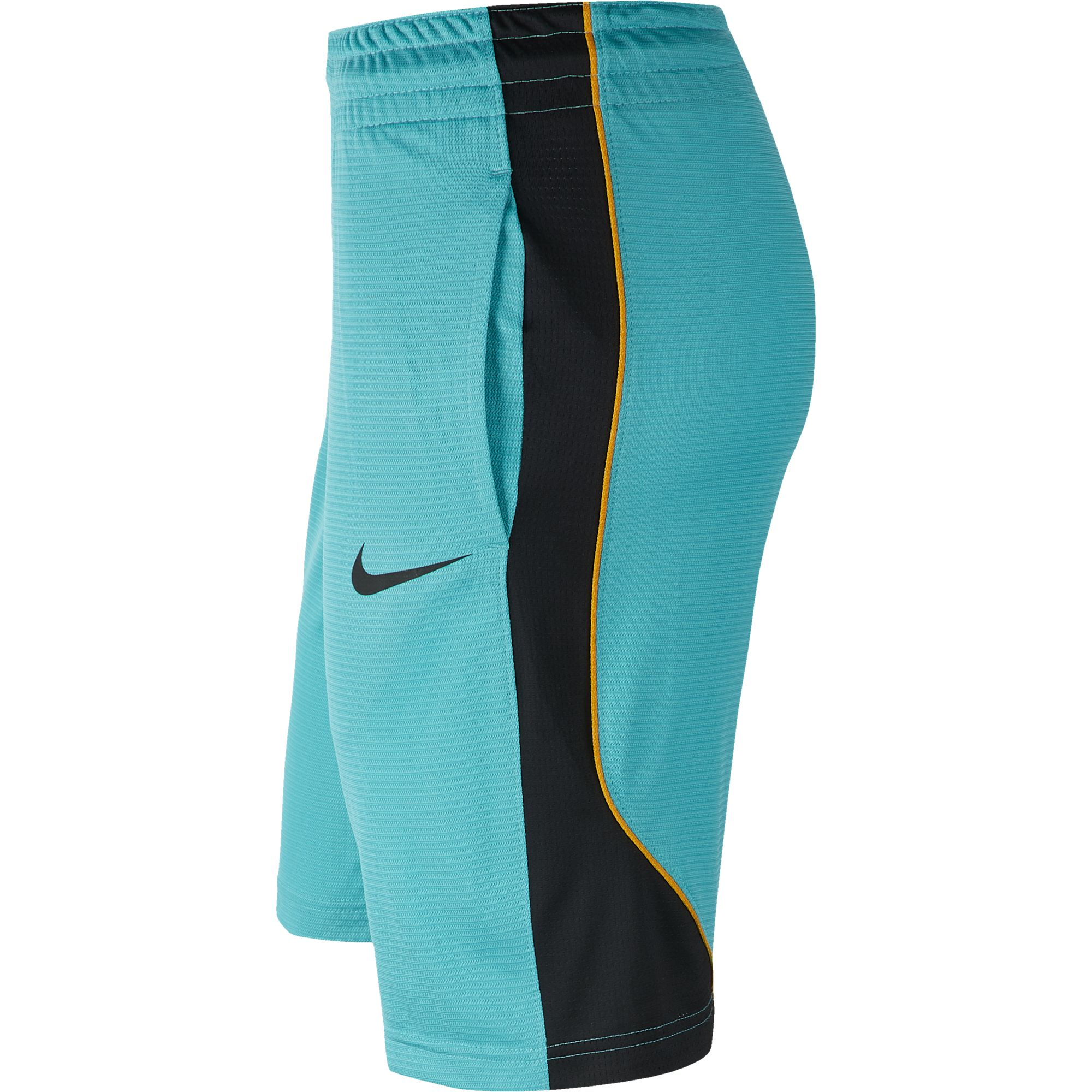 Nike Womens Basketball Dry Shorts - Cabana/Black/Canyon Gold
