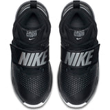 Nike Kids Team Hustle D 8  Basketball Boot/Shoe - Black/Metallic Silver/White