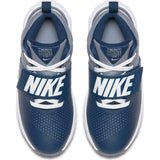Nike Kids Team Hustle D 8  Basketball Boot/Shoe - Midnight Navy/White/Cool Grey