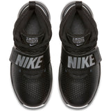 Nike Kids Team Hustle D 8 Pre-School Basketball Boot/Shoe - Black/Metallic Silver/White
