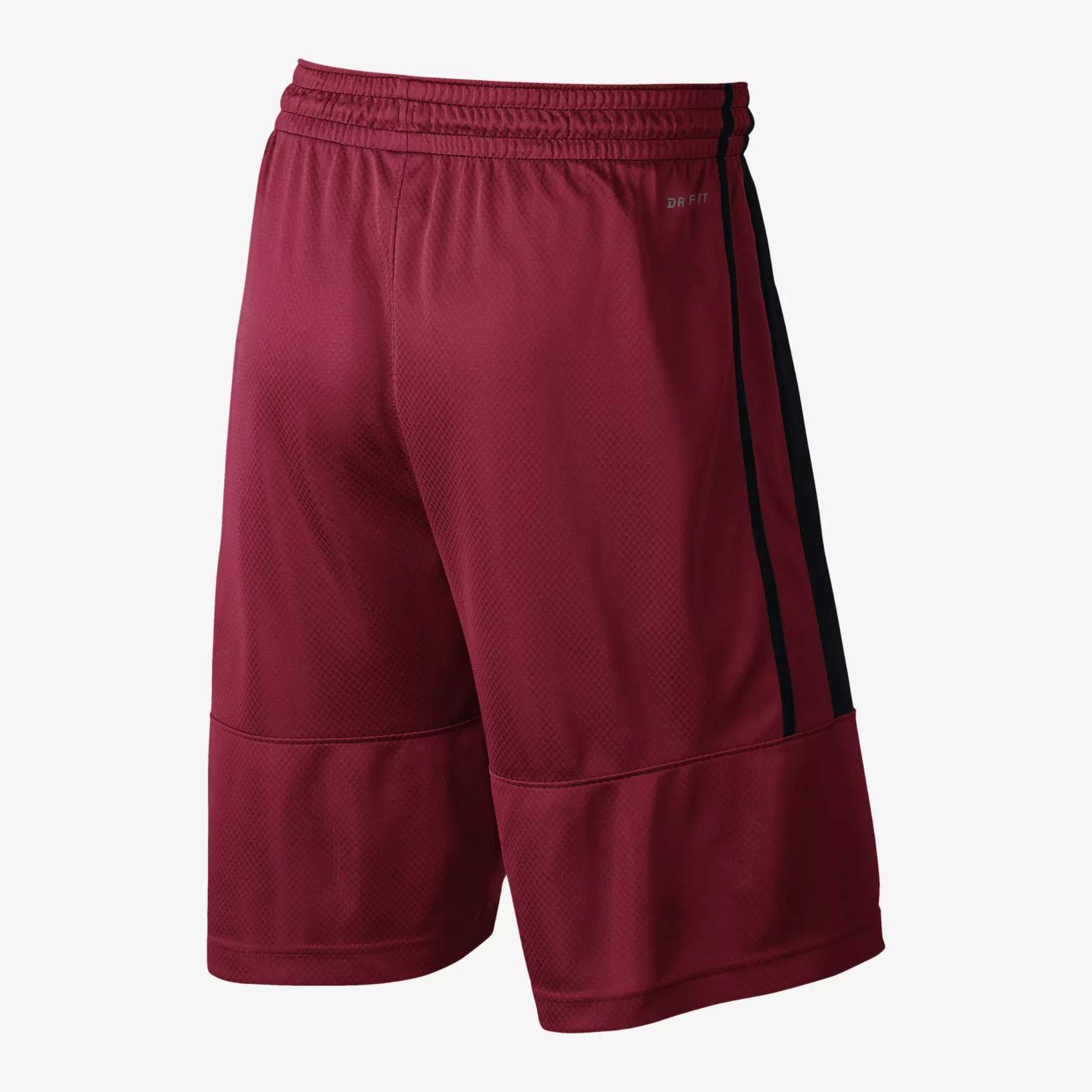 Nike Jordan Basketball Rise Solid Shorts - Gym Red/Black