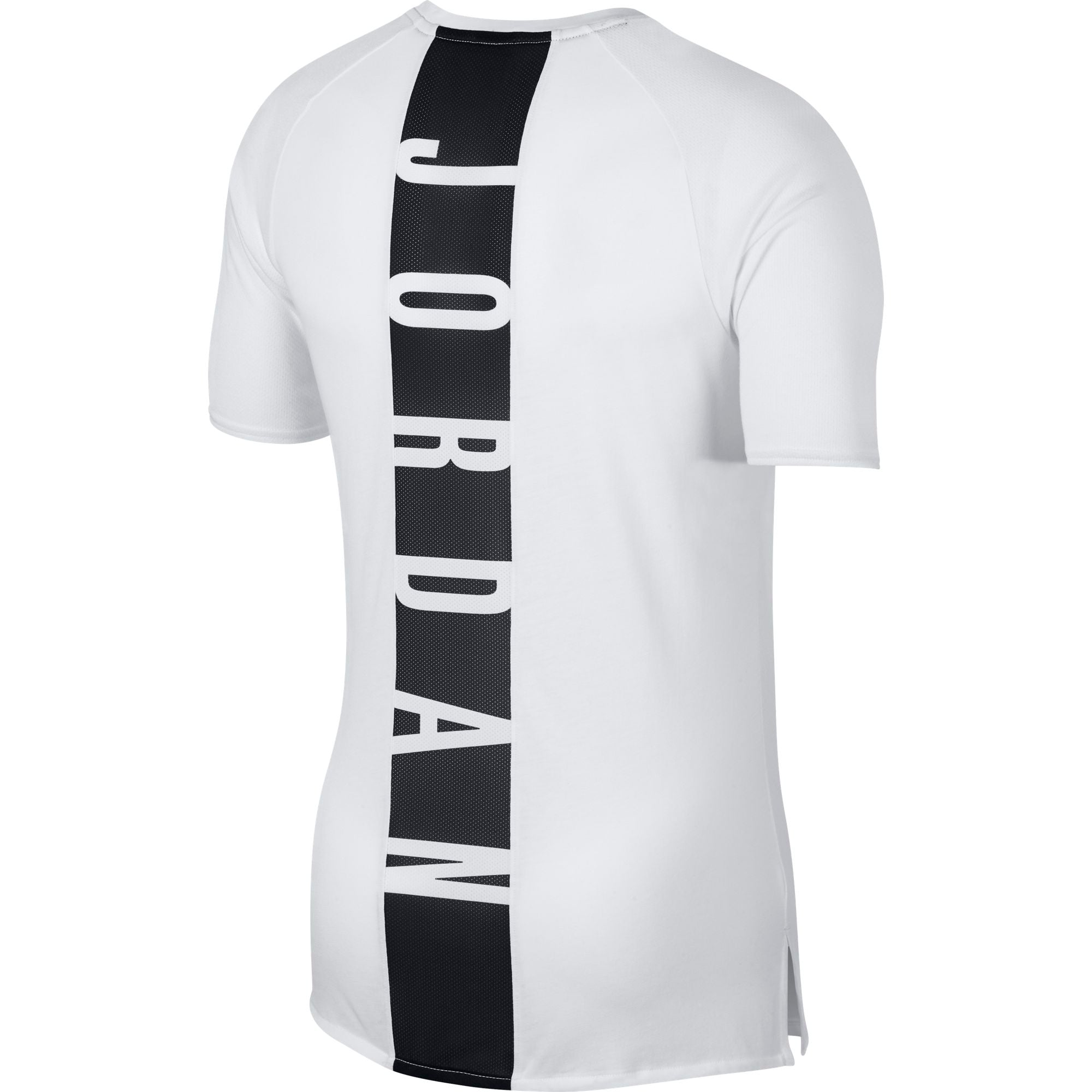 Nike Jordan Dry 23 Alpha Short-Sleeve Training Top - White/Black