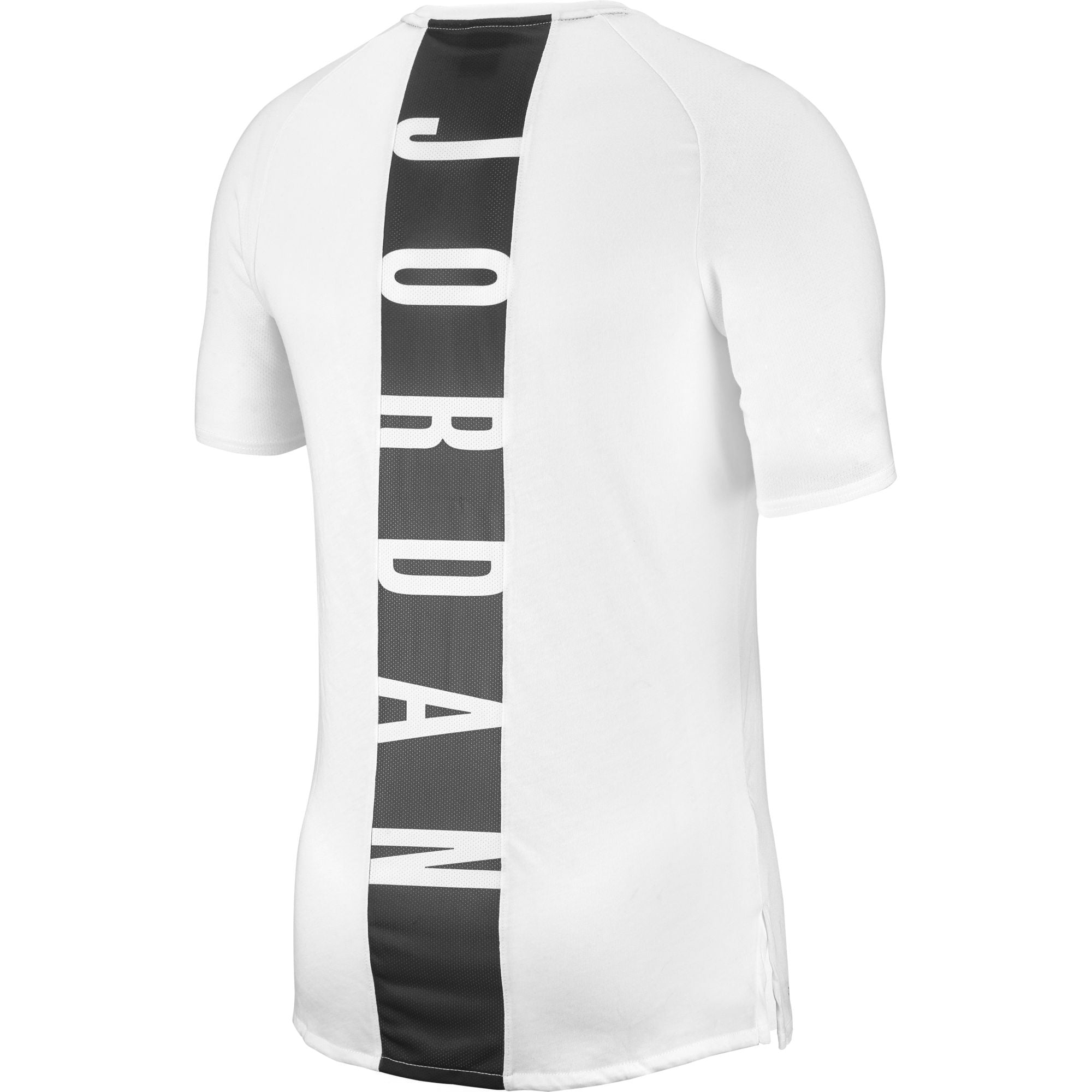 Nike Jordan Training Dry 23 Alpha Short-Sleeve Training Top - White/Gym Red/Black