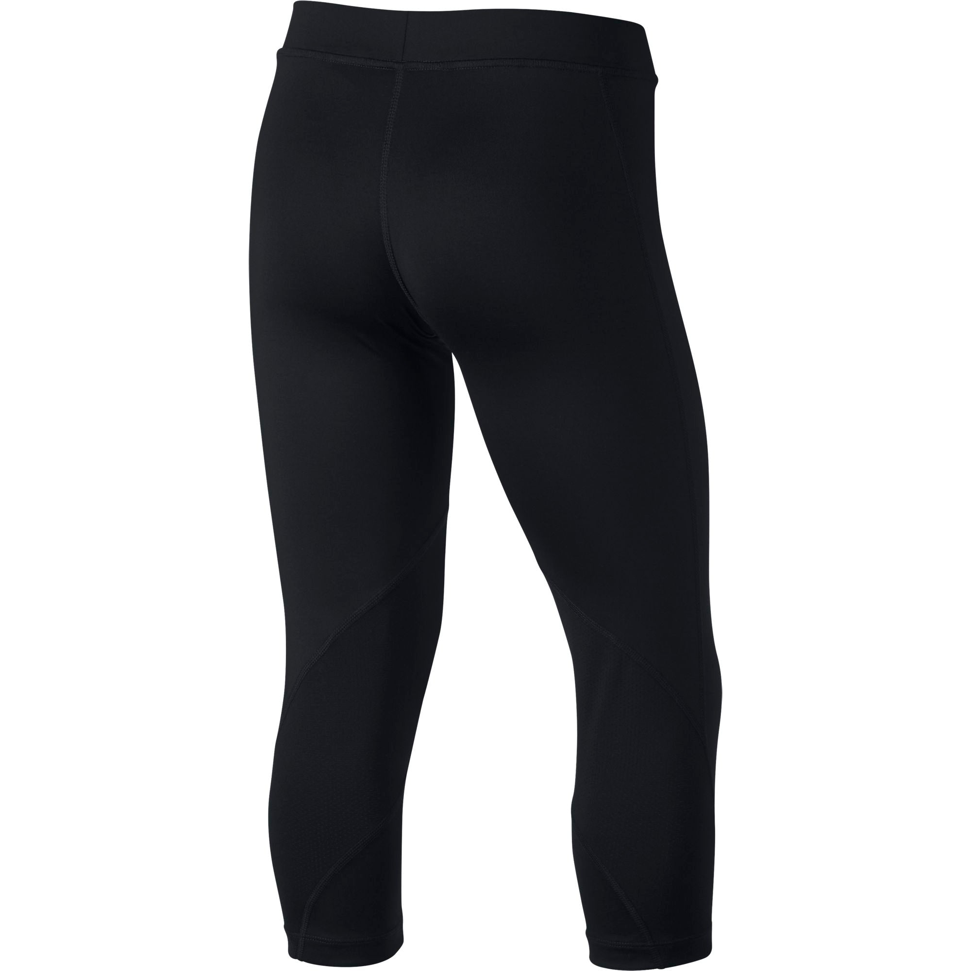 Nike Girls' Training Pro Capris - Black/White