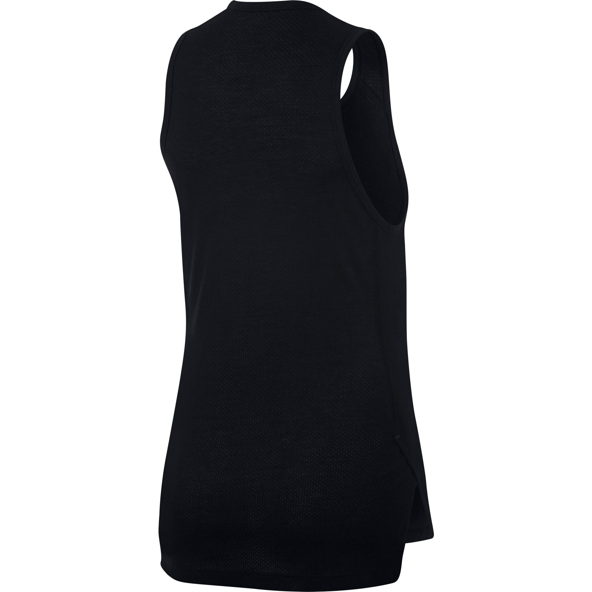 Nike Womens Basketball Breathe Elite Top - Black