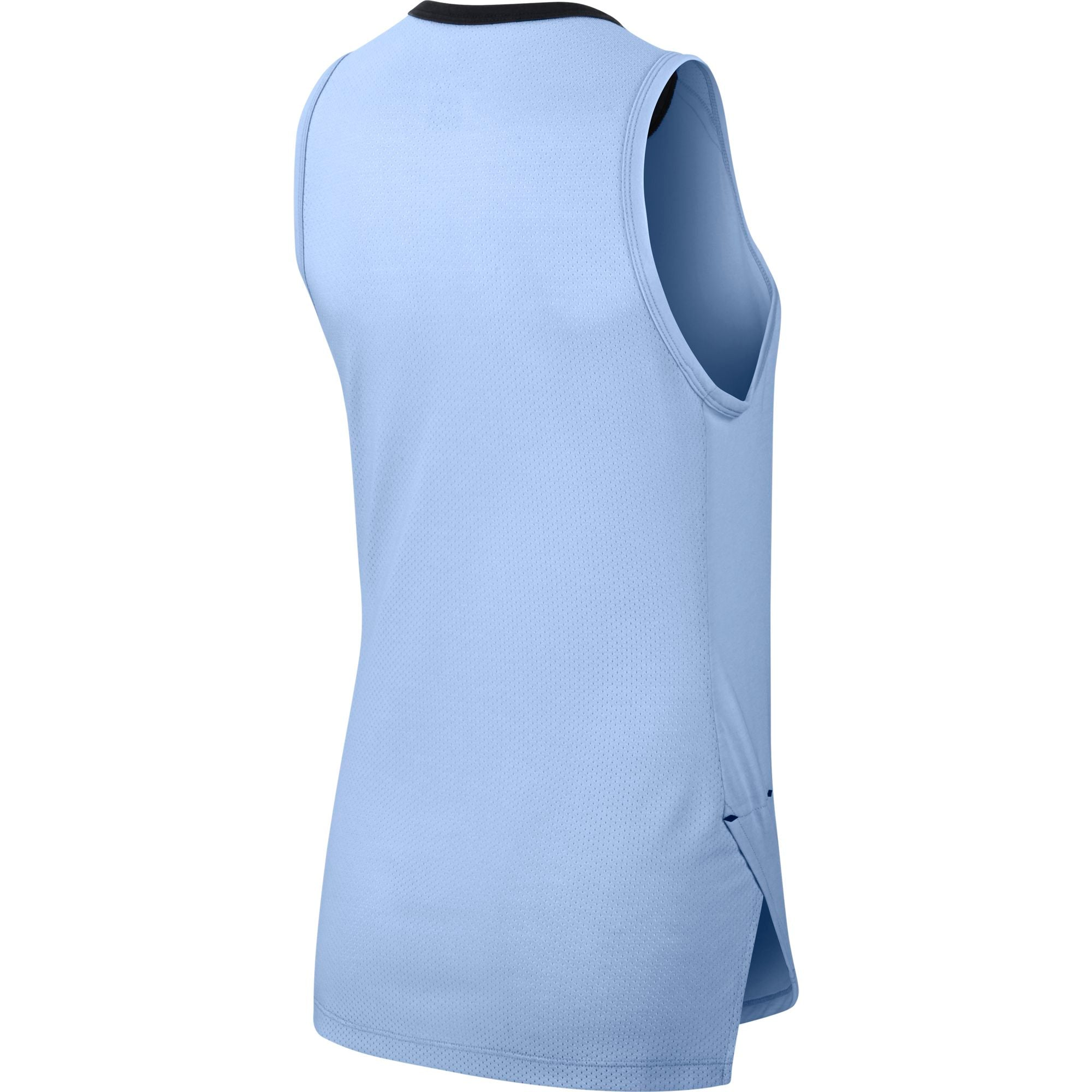 Nike Womens Basketball Breathe Elite Top - Royal Tint/Black
