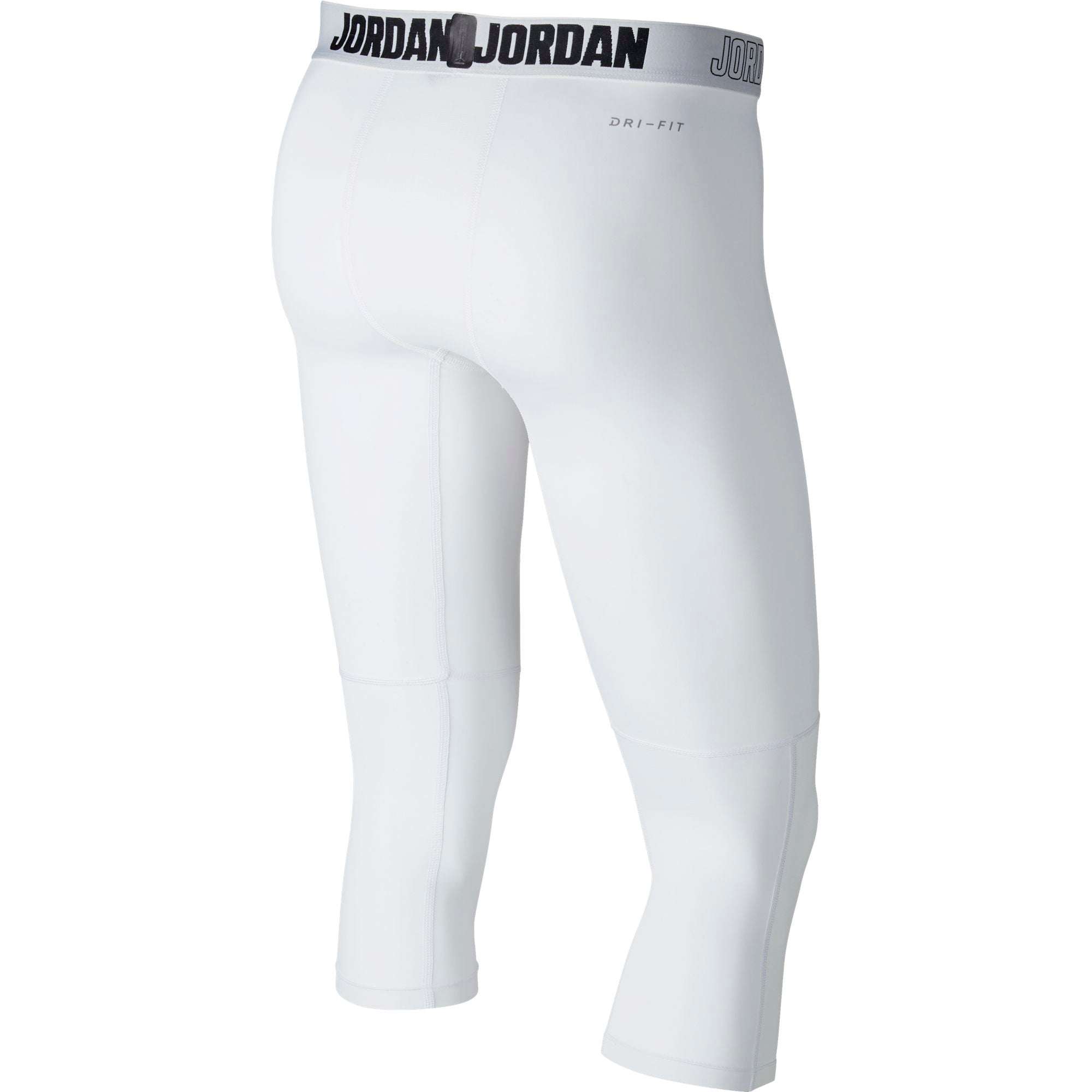 Nike Jordan Dry 23 Alpha 3/4 Training Tights - White/Black
