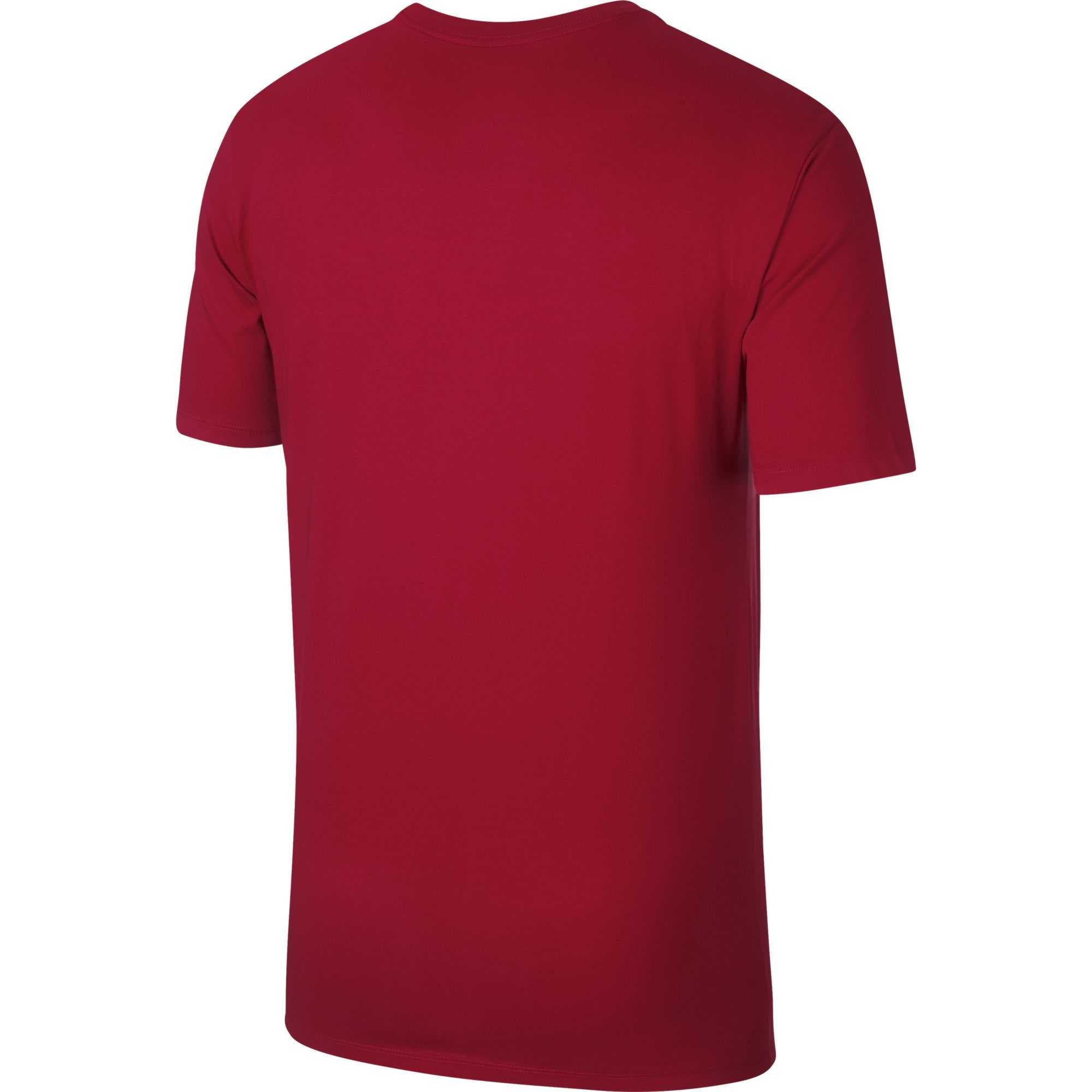 Nike Jordan Rise Verbiage Basketball Tee - Gym Red/White