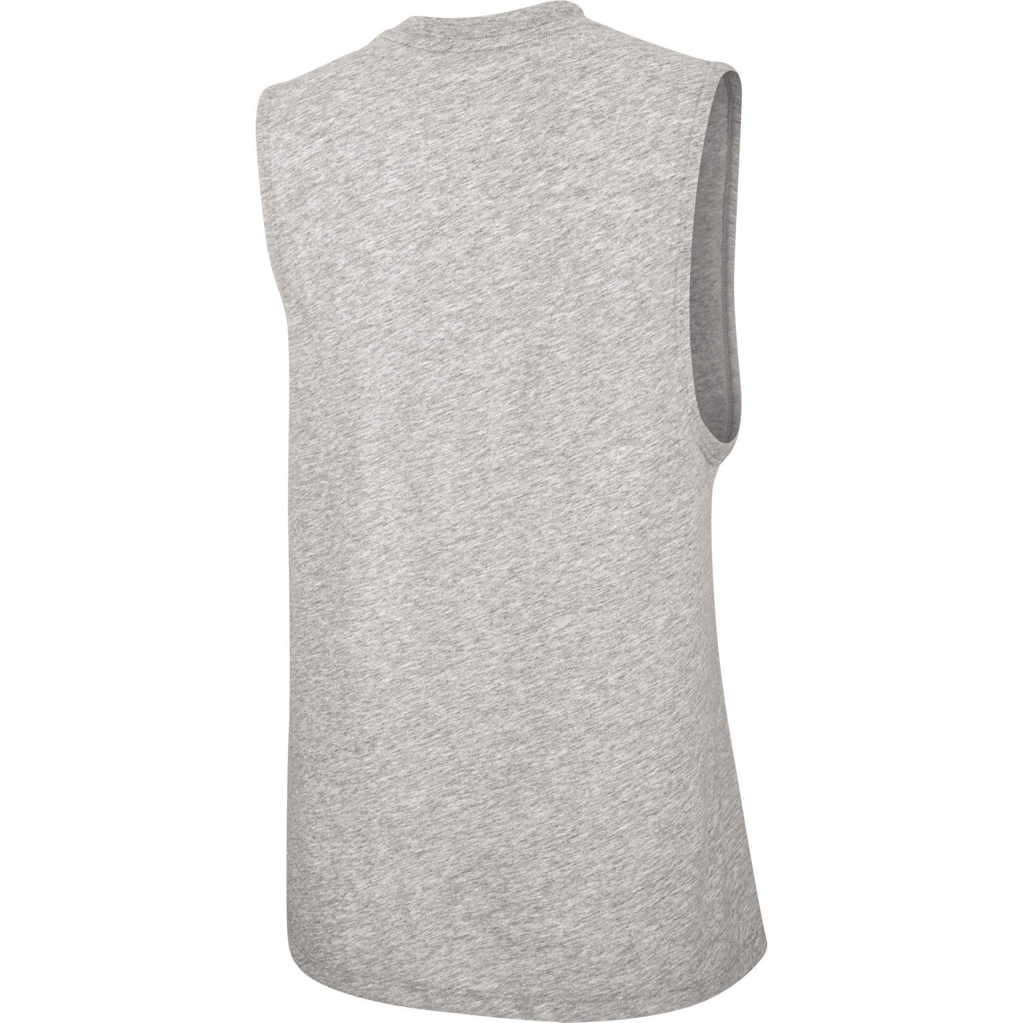 Nike Womens Basketball Dry Cotton Graphic Tank - Dark Grey Heather