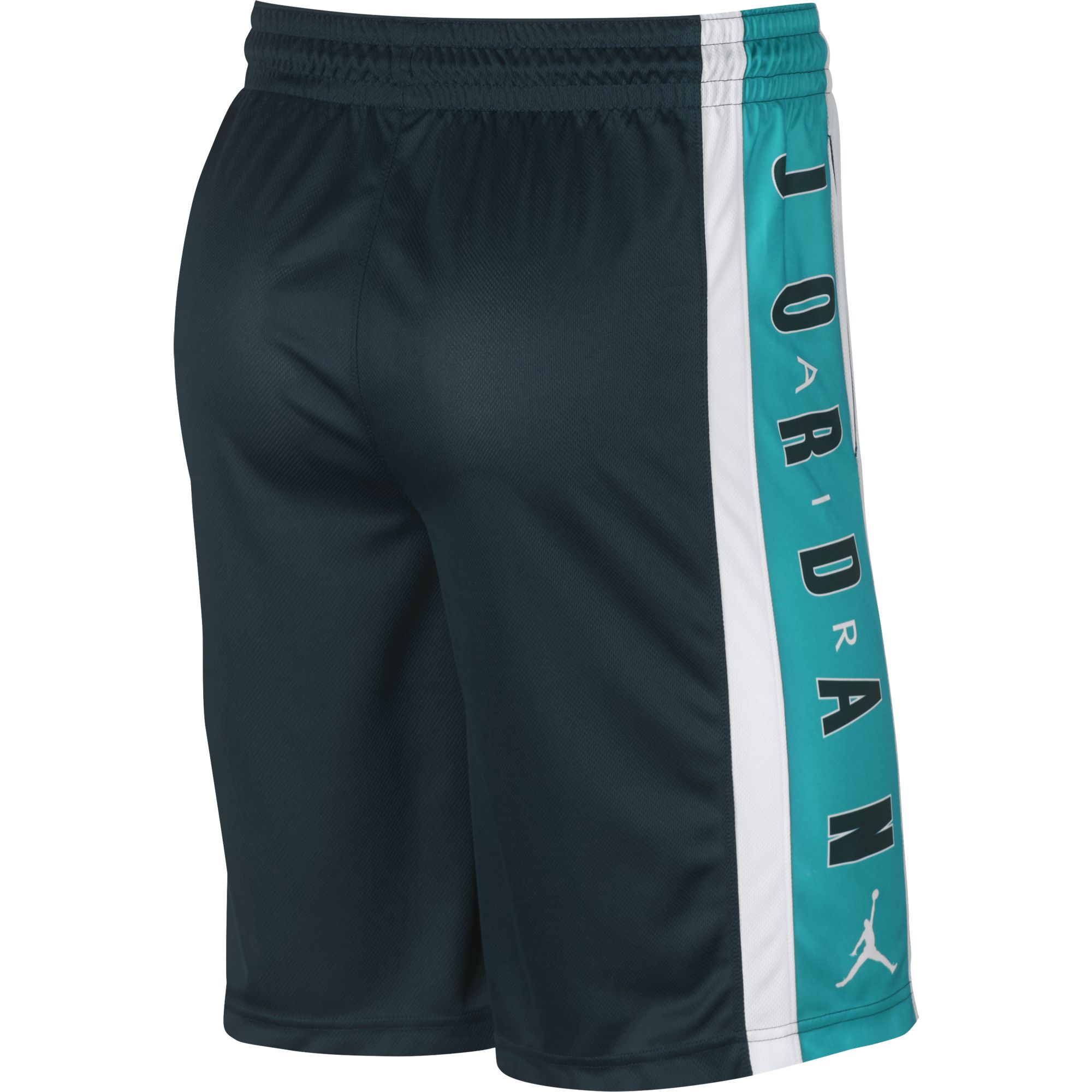 Nike Jordan Breathe Rise 3 Basketball Shorts - Midnight Spruce/White/Turbo Green