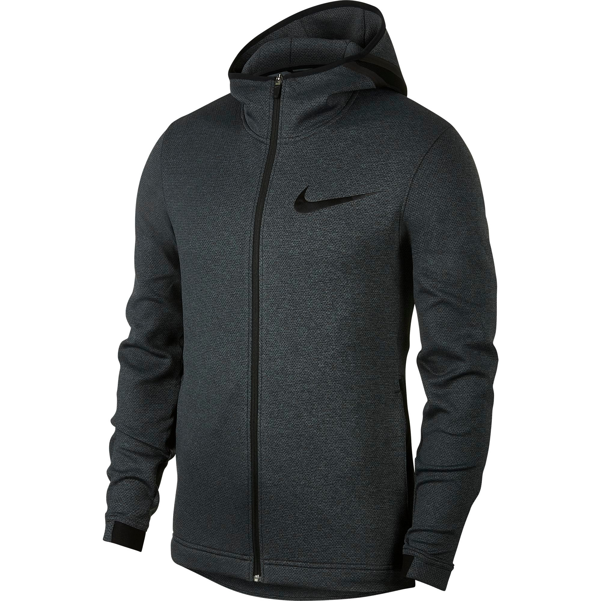 gift Vag Ekonomi  Nike Basketball Therma Flex Showtime Full Zip Hoodie - Black ...