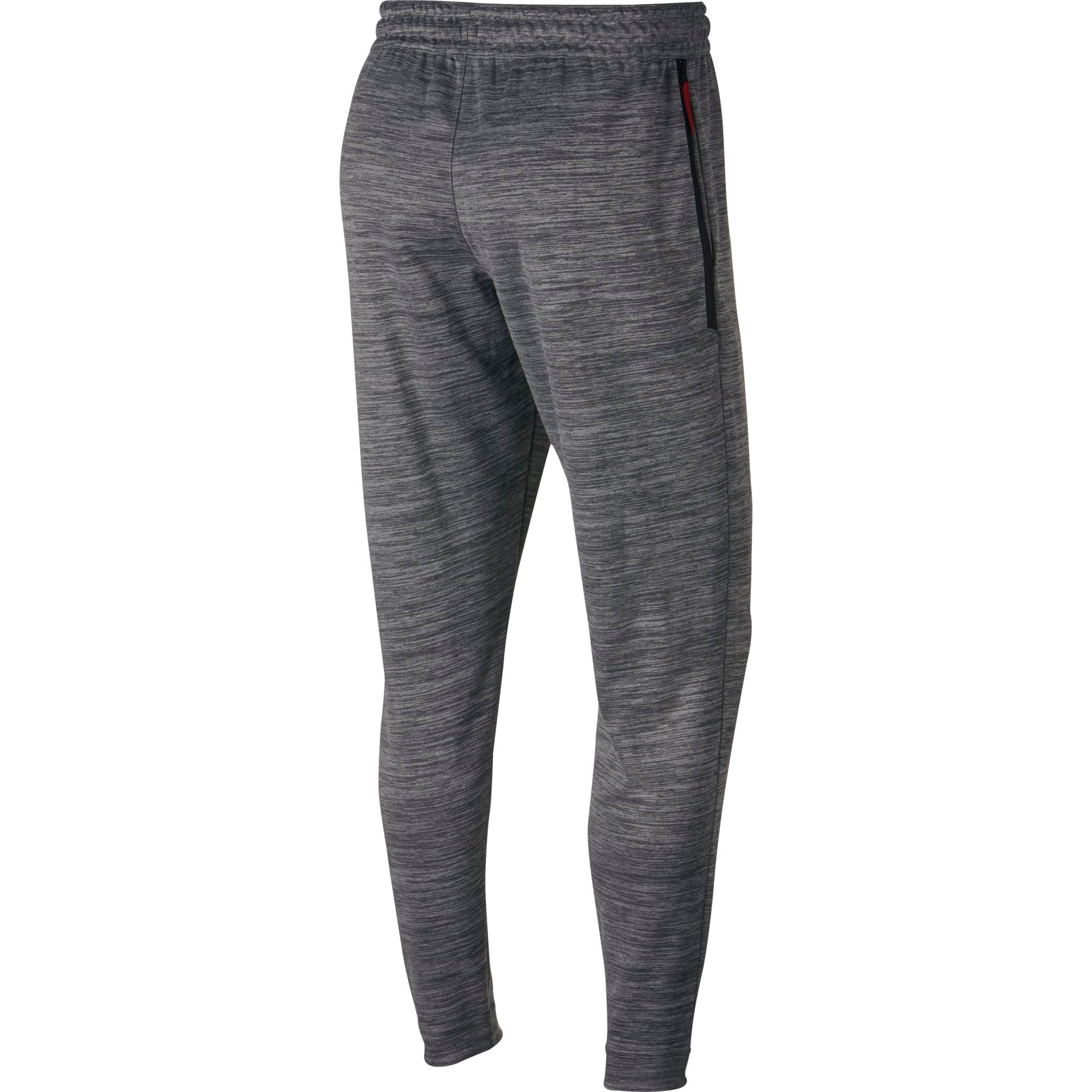Nike Basketball Spotlight Tapered Pants - Grey Heather/Black