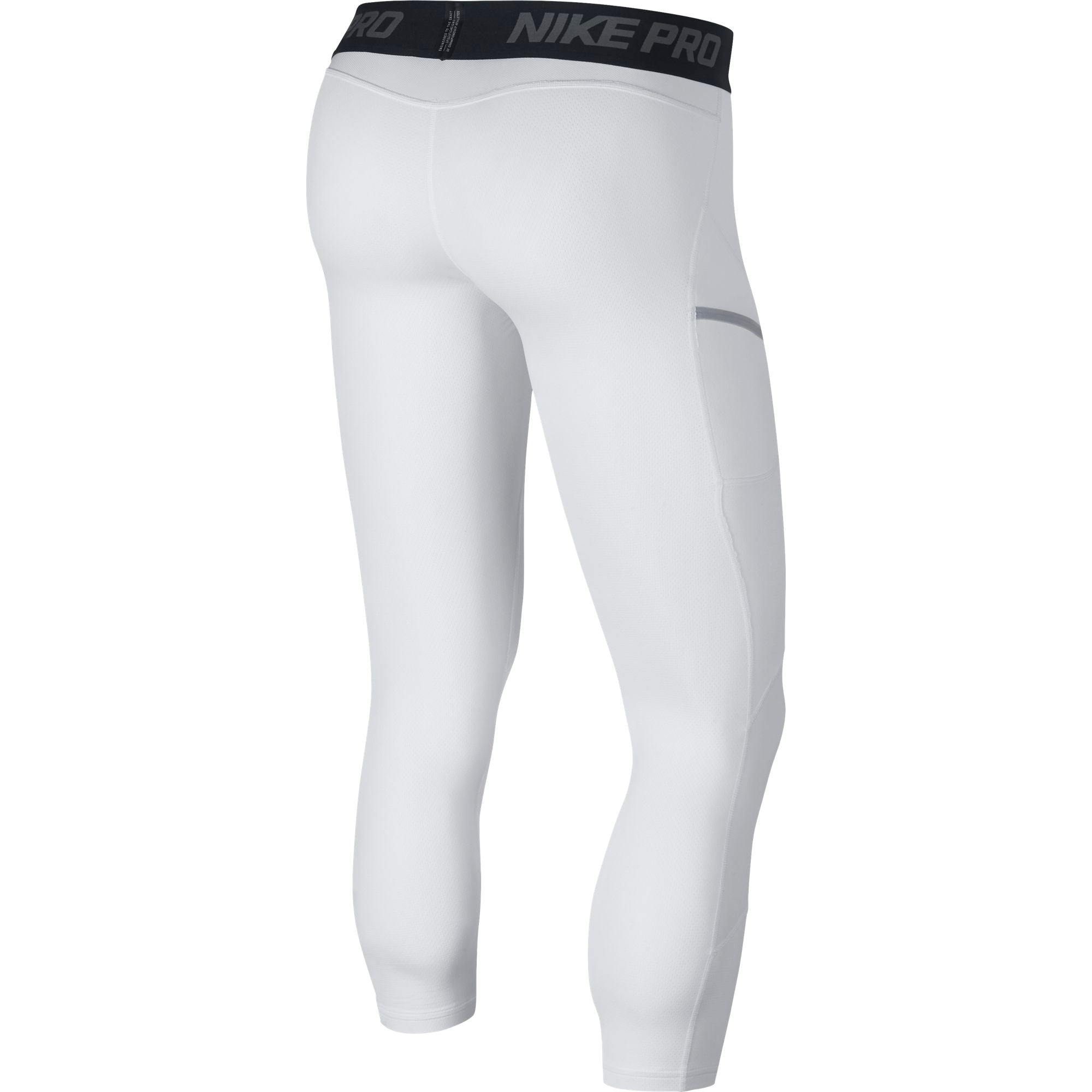 Nike Basketball Pro Tights - White/Black