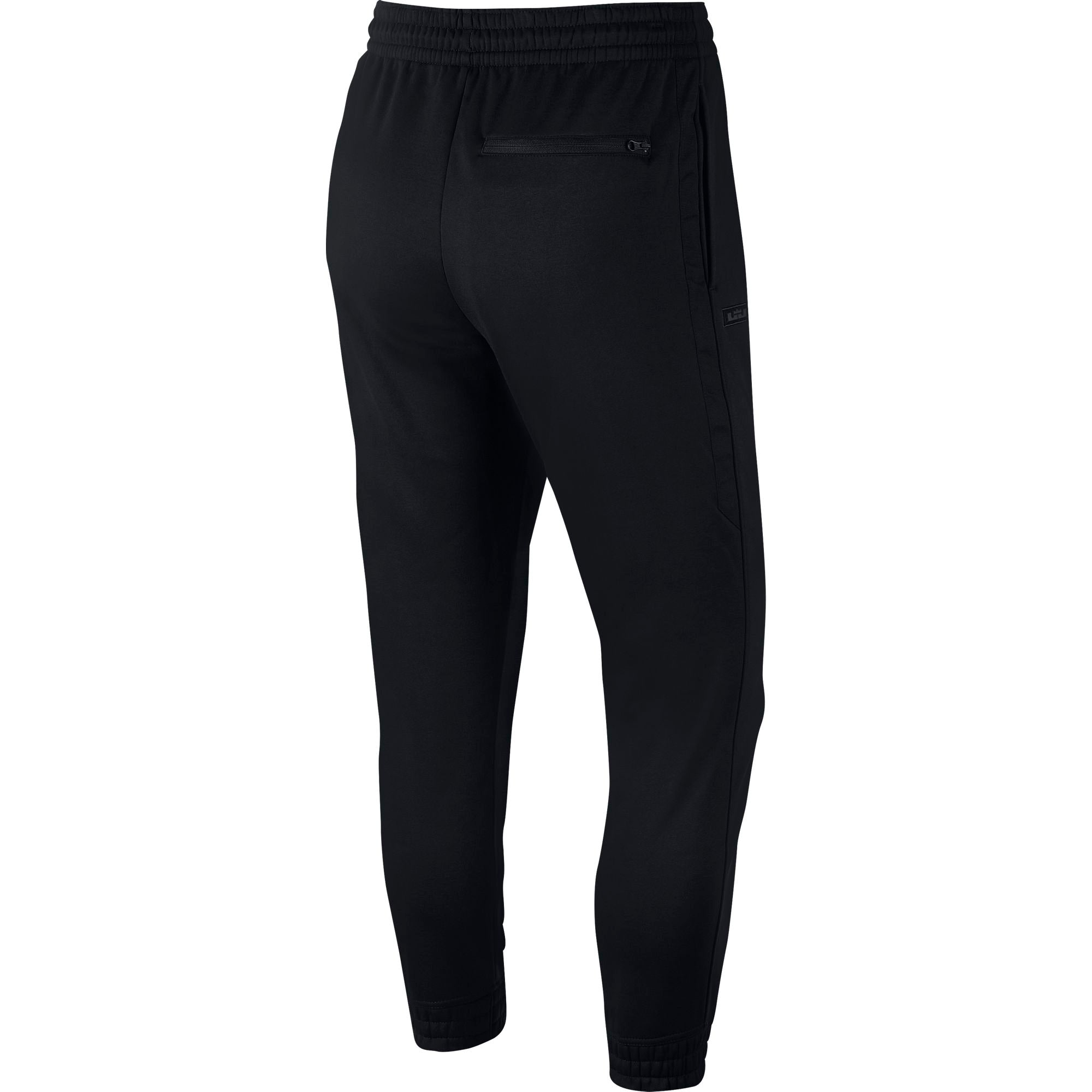 Nike Lebron Performance Fleece Therma Tapered Basketball Pants - Black