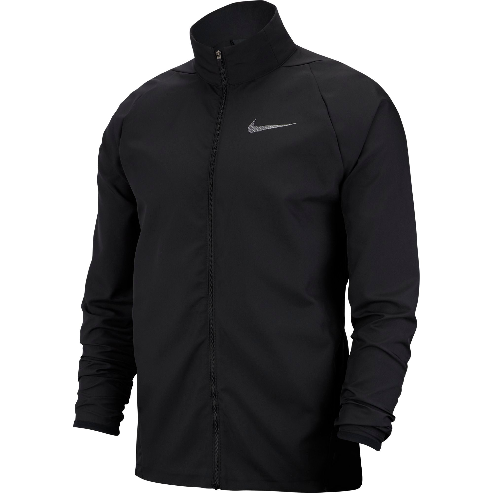 Planeta Escoger Descripción del negocio  Nike Training Dri-fit Woven Jacket (Tall Fit) - Black/Metallic Hematit –  SwiSh basketball