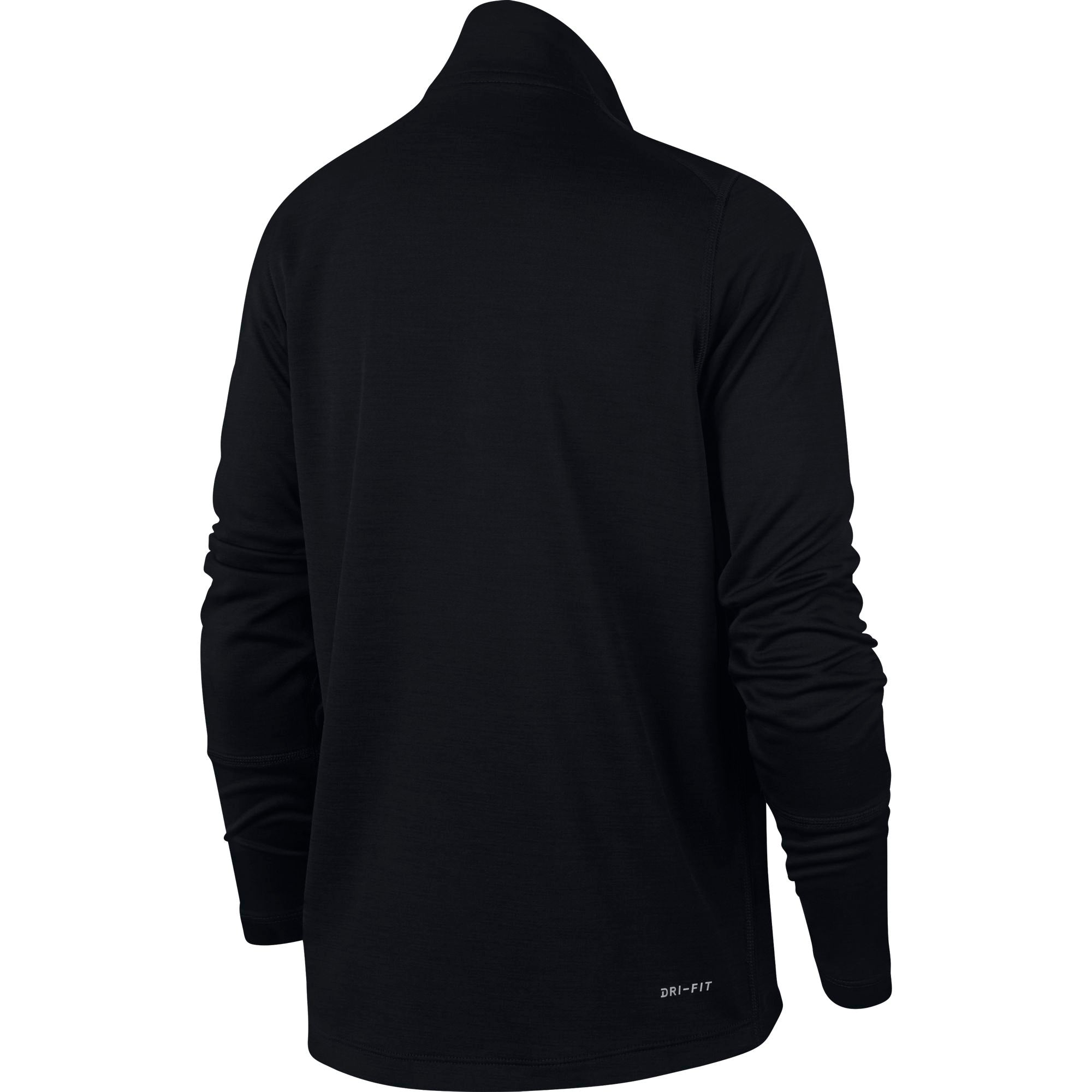 Nike Kids Half-Zip Sports Top - Black