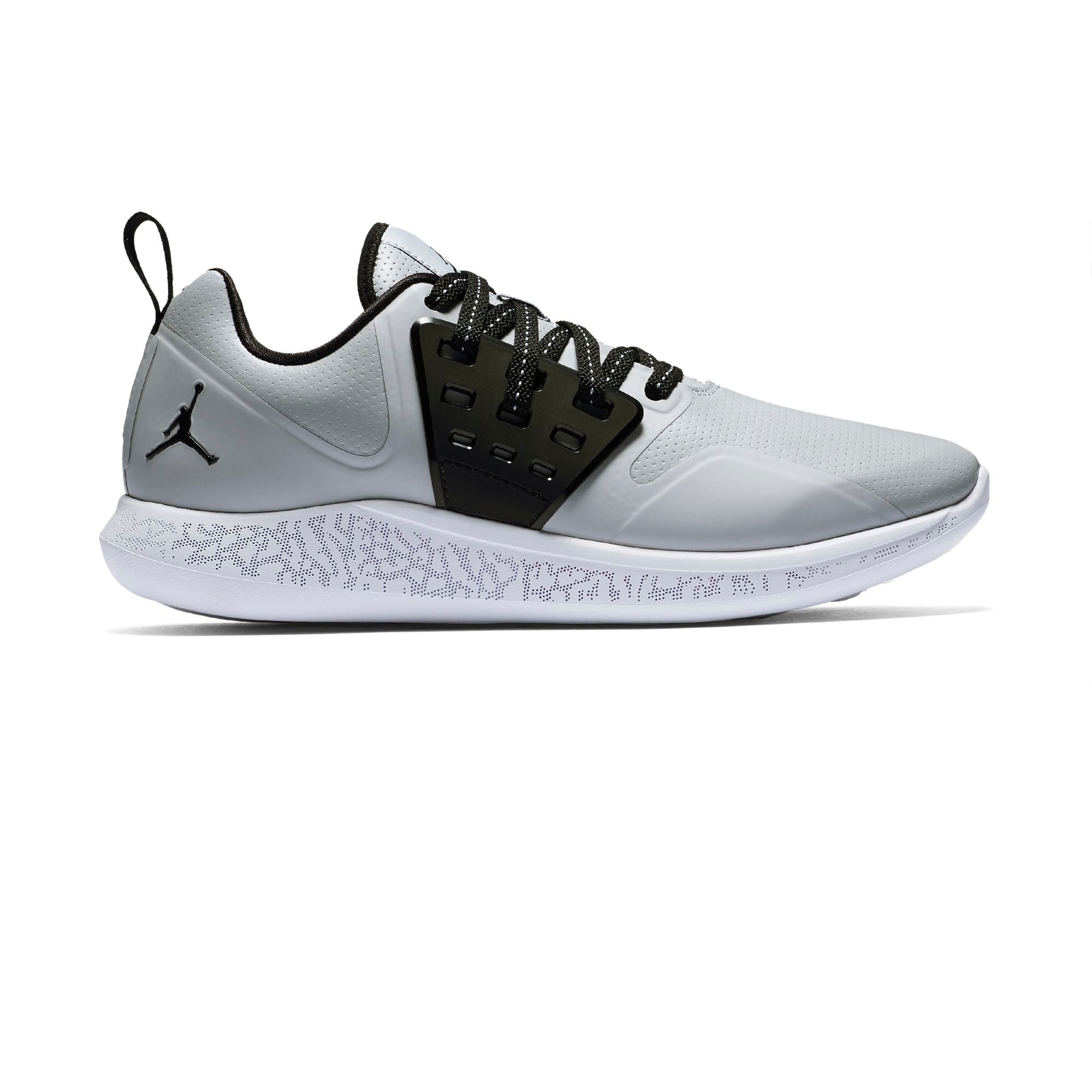 Nike Jordan Grind Running Shoe - Wolf Grey/Black/White