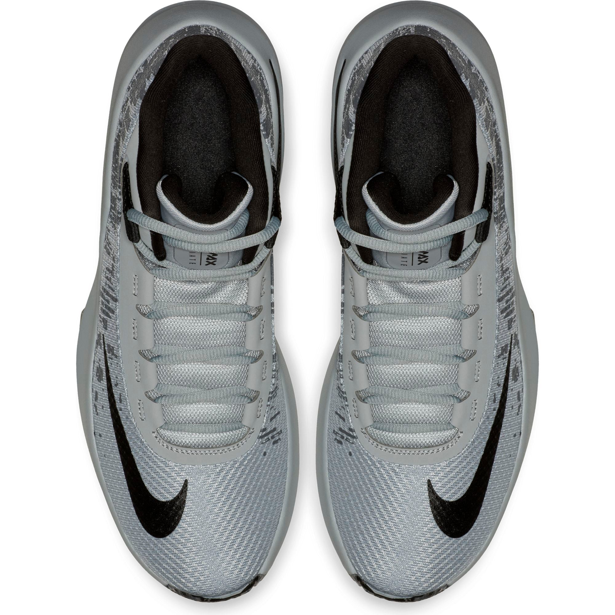 Nike Basketball Air Max Infuriate 2 Mid Boot/Shoe - Wolf Grey/Black/Dark Grey