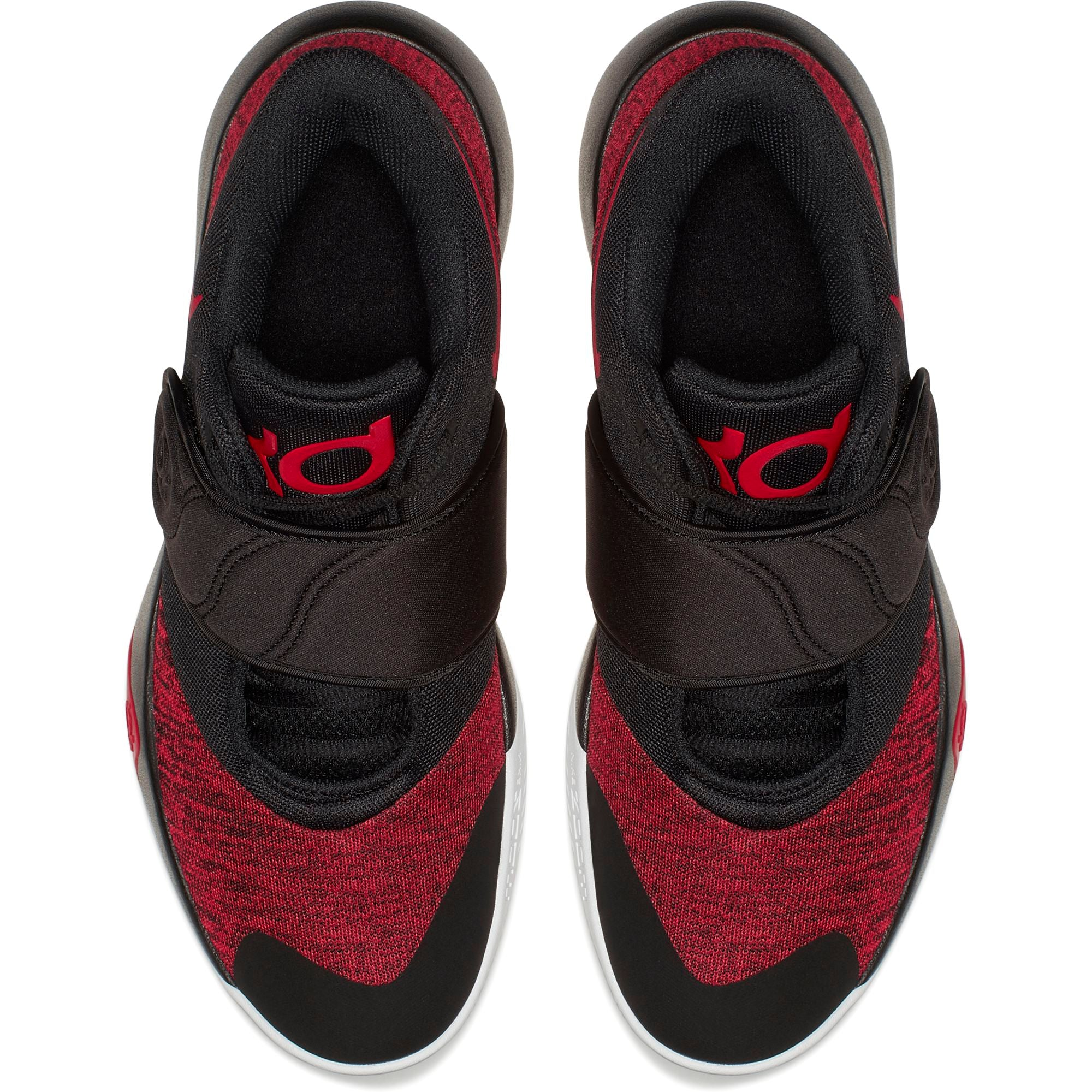 Nike KD Trey 5 VI Low Basketball Shoe - Black/University Red/White