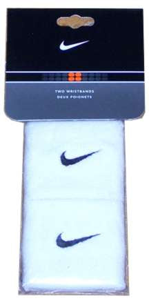 Nike Multi-Pack Wristbands - White/(Black)-One Size