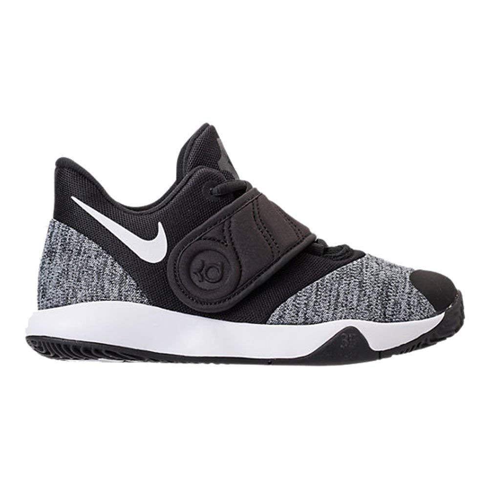 Nike Kids KD Trey 5 VI  Pre-Pchool Basketball Shoe - Black/White