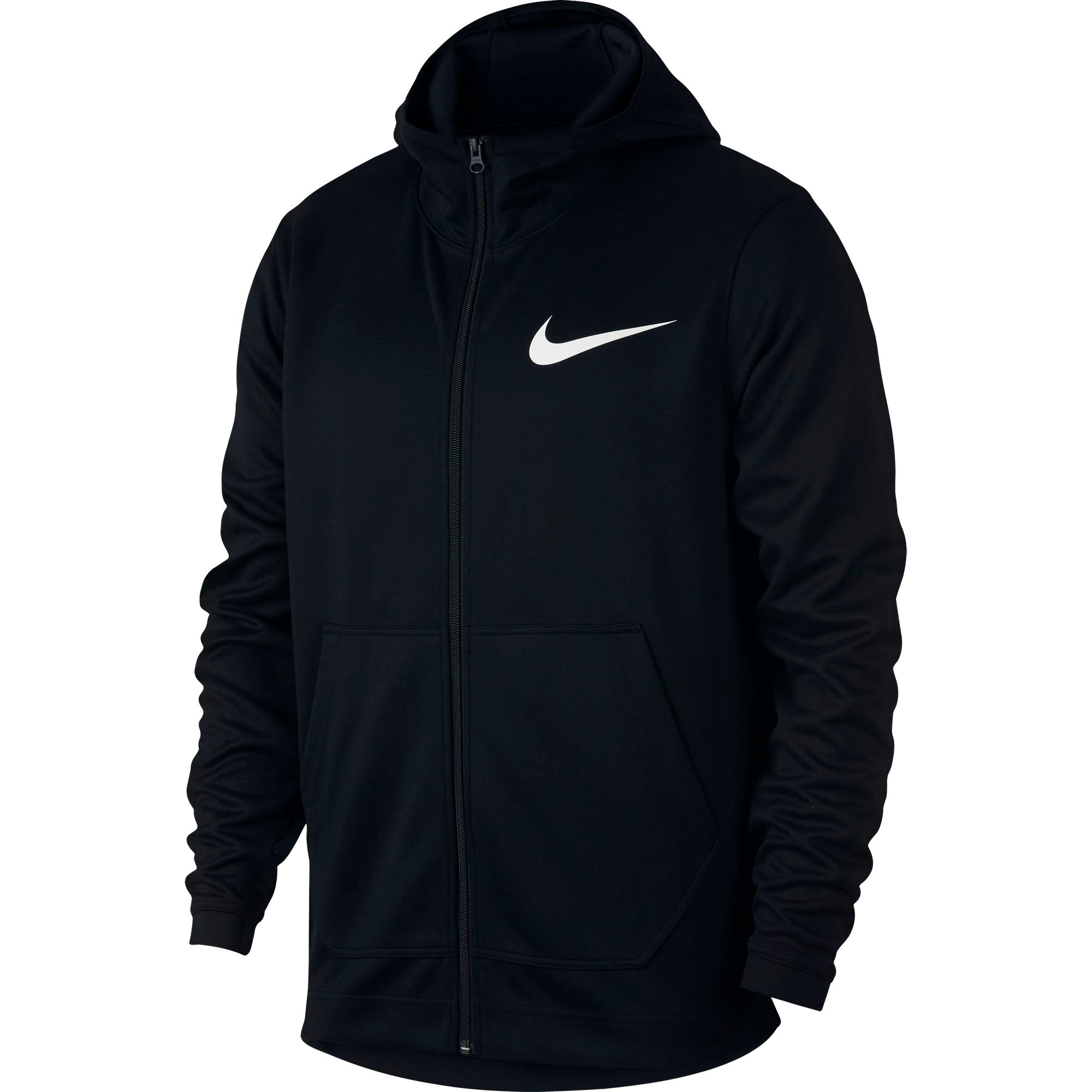 Nike Basketball Spotlight Full Zip Double-Knit Hoodie - NK-AH7596-010
