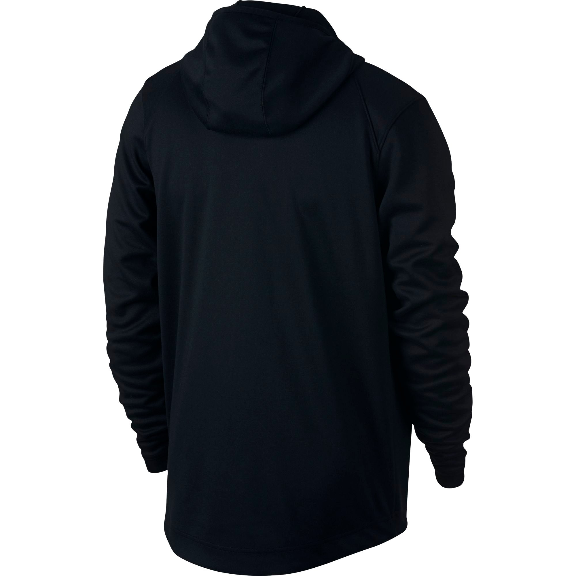 Nike Basketball Spotlight Full Zip Double-Knit Hoodie - Black/White
