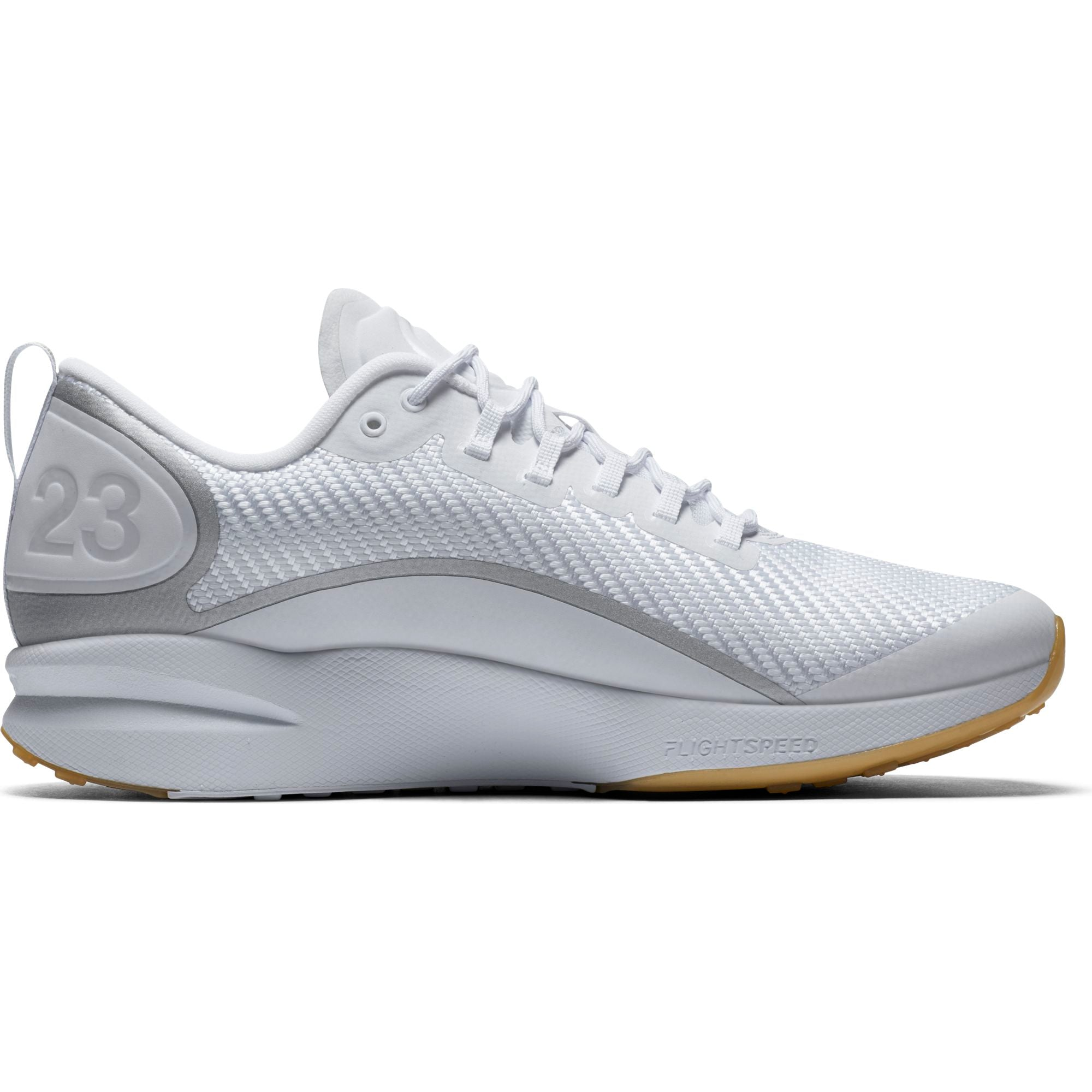 Nike Jordan Training Zoom Tenacity Running Shoe - White/Gum Light Brown